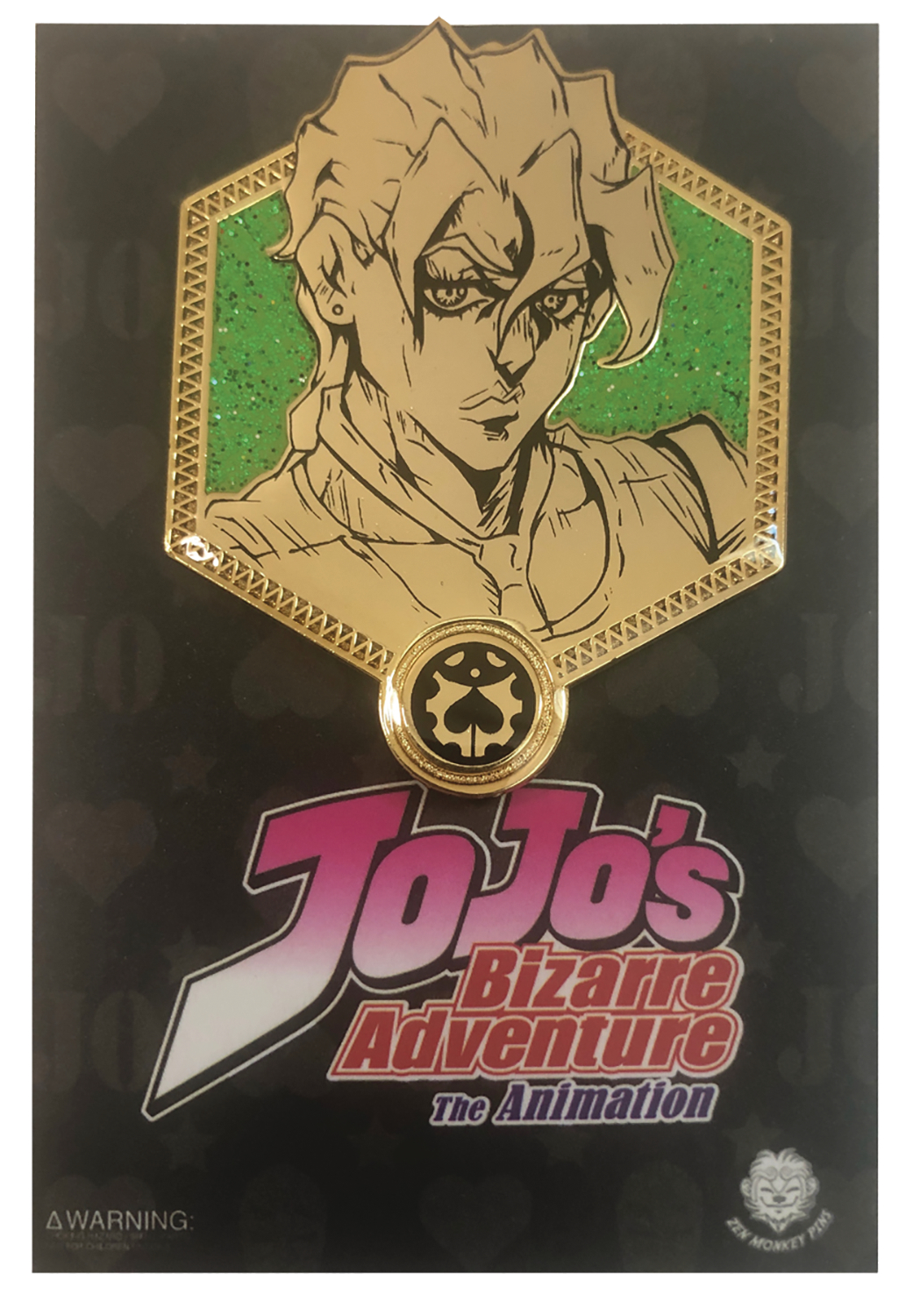 JOJOS BIZARRE ADVENTURE GOLD FUGO PIN