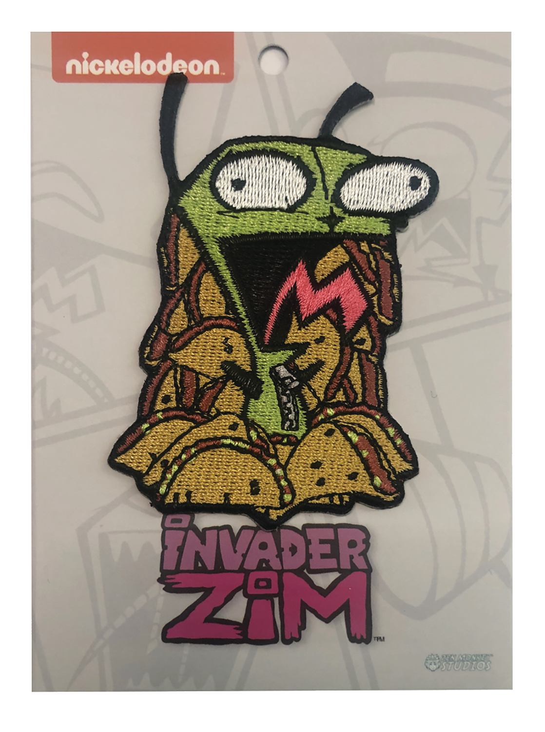 INVADER ZIM TACO OVERLOAD GIR PATCH