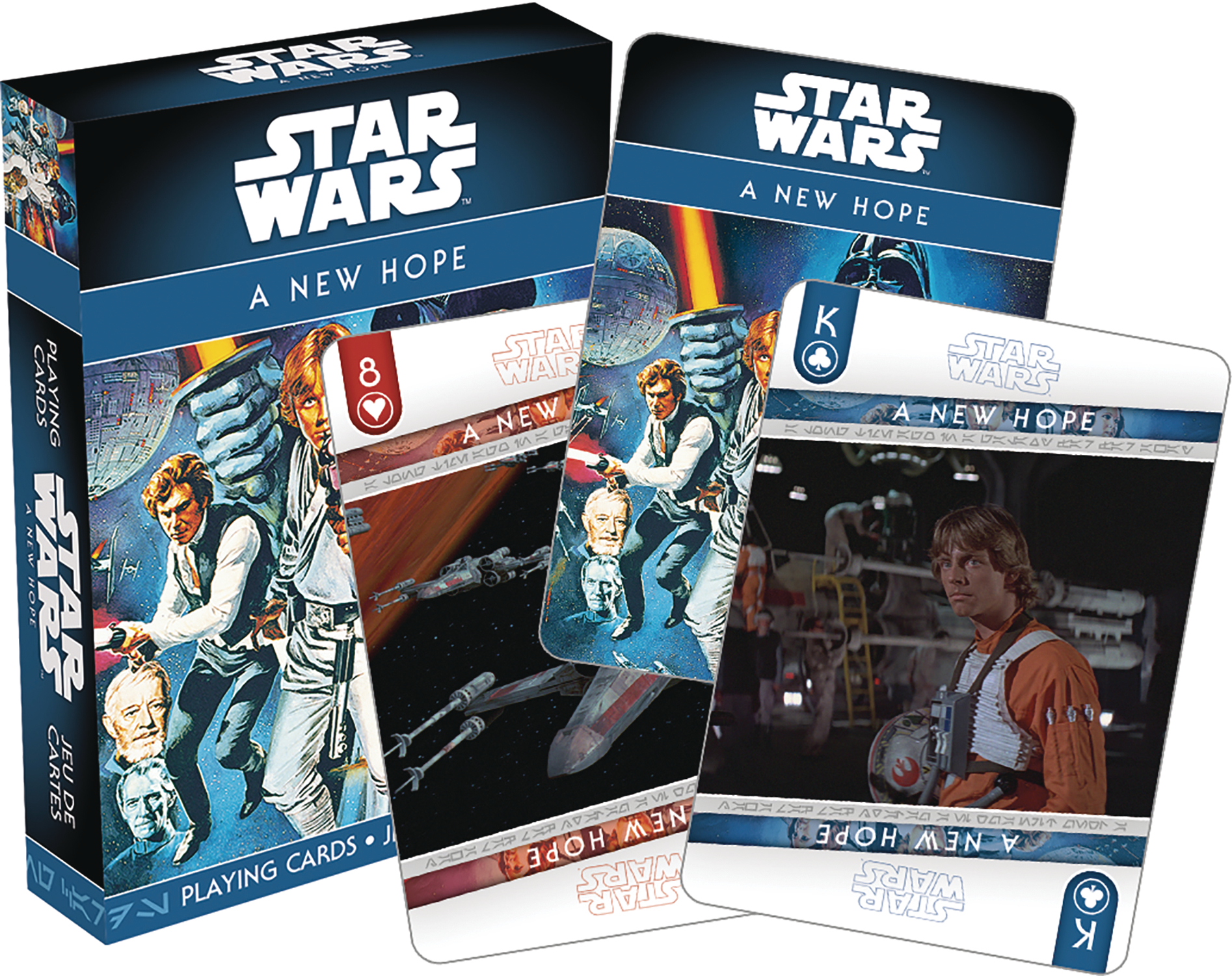 STAR WARS EPISODE 4 PLAYING CARDS