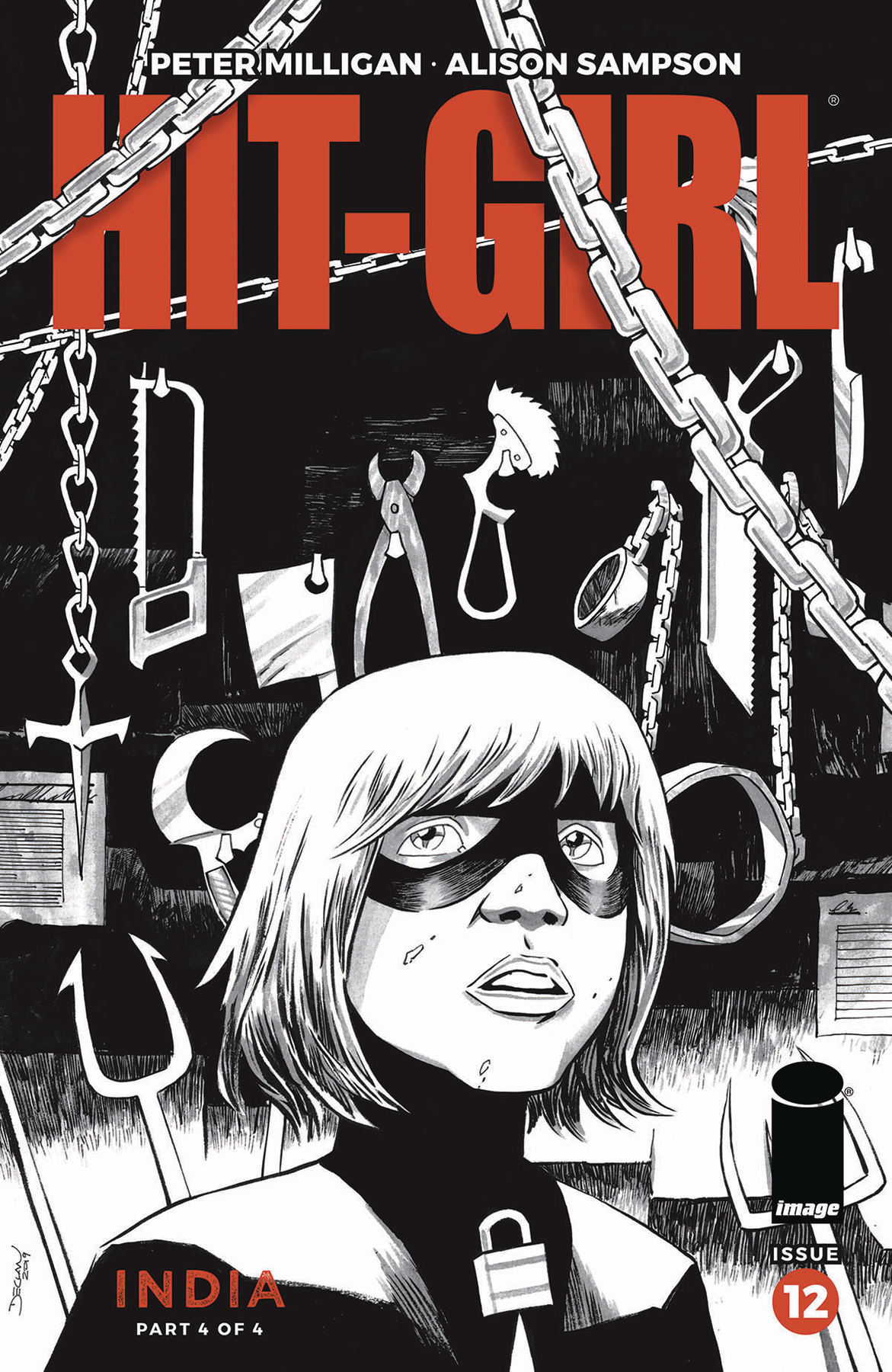 HIT-GIRL SEASON TWO #12 CVR B SHALVEY (MR)