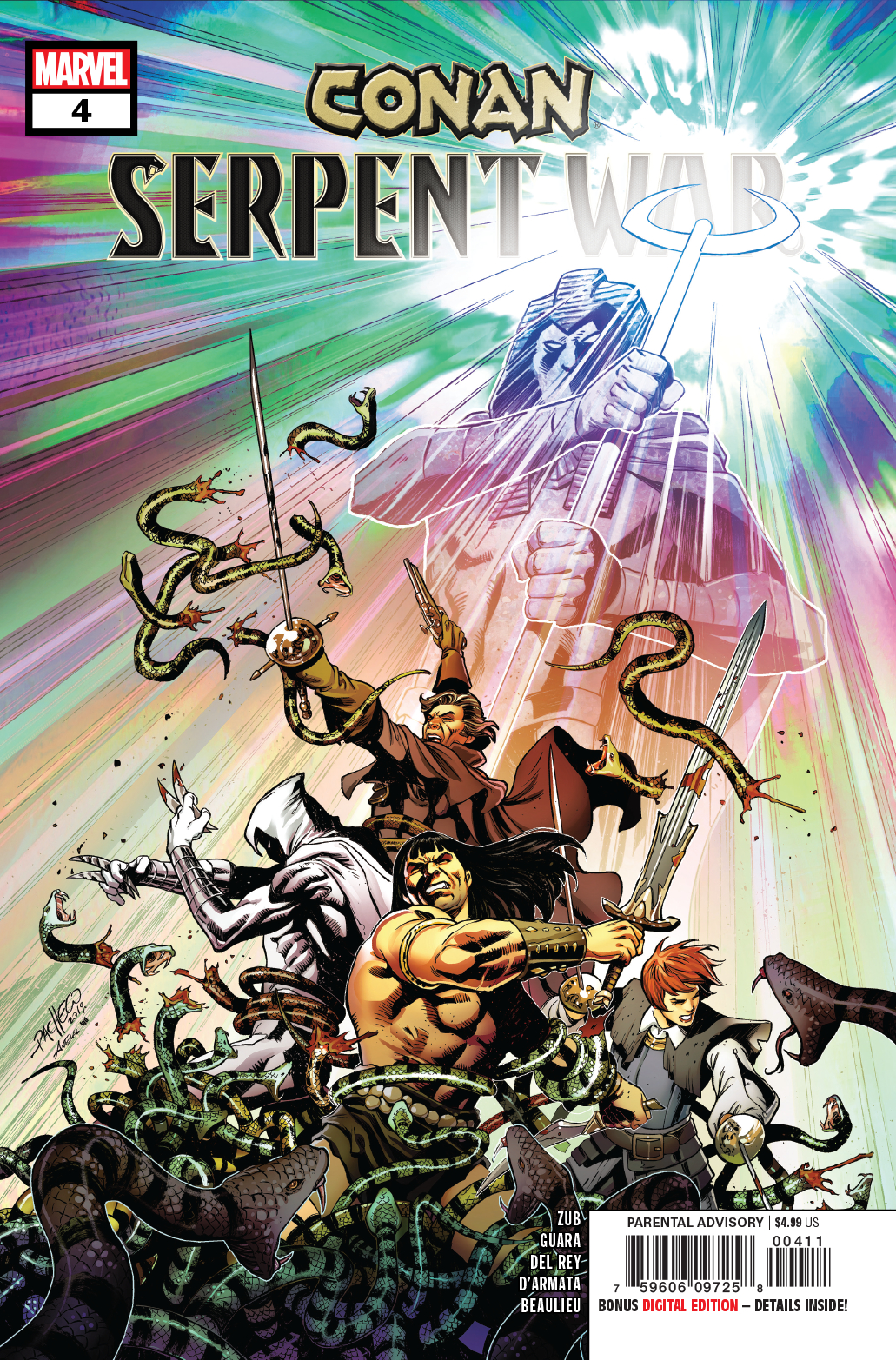 CONAN SERPENT WAR #4 (OF 4)