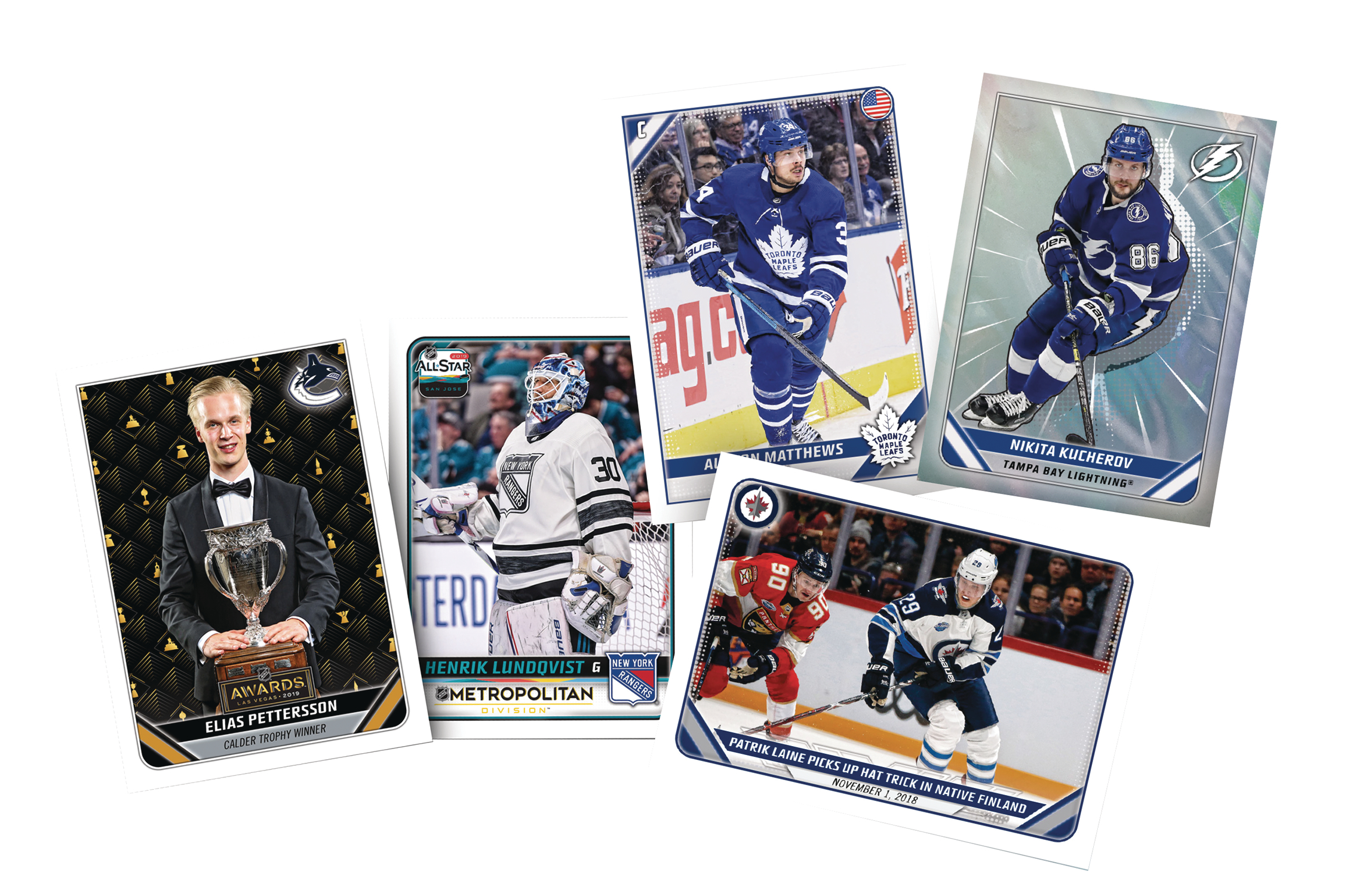 TOPPS 2019-20 NHL STICKER COLLECTION BOX