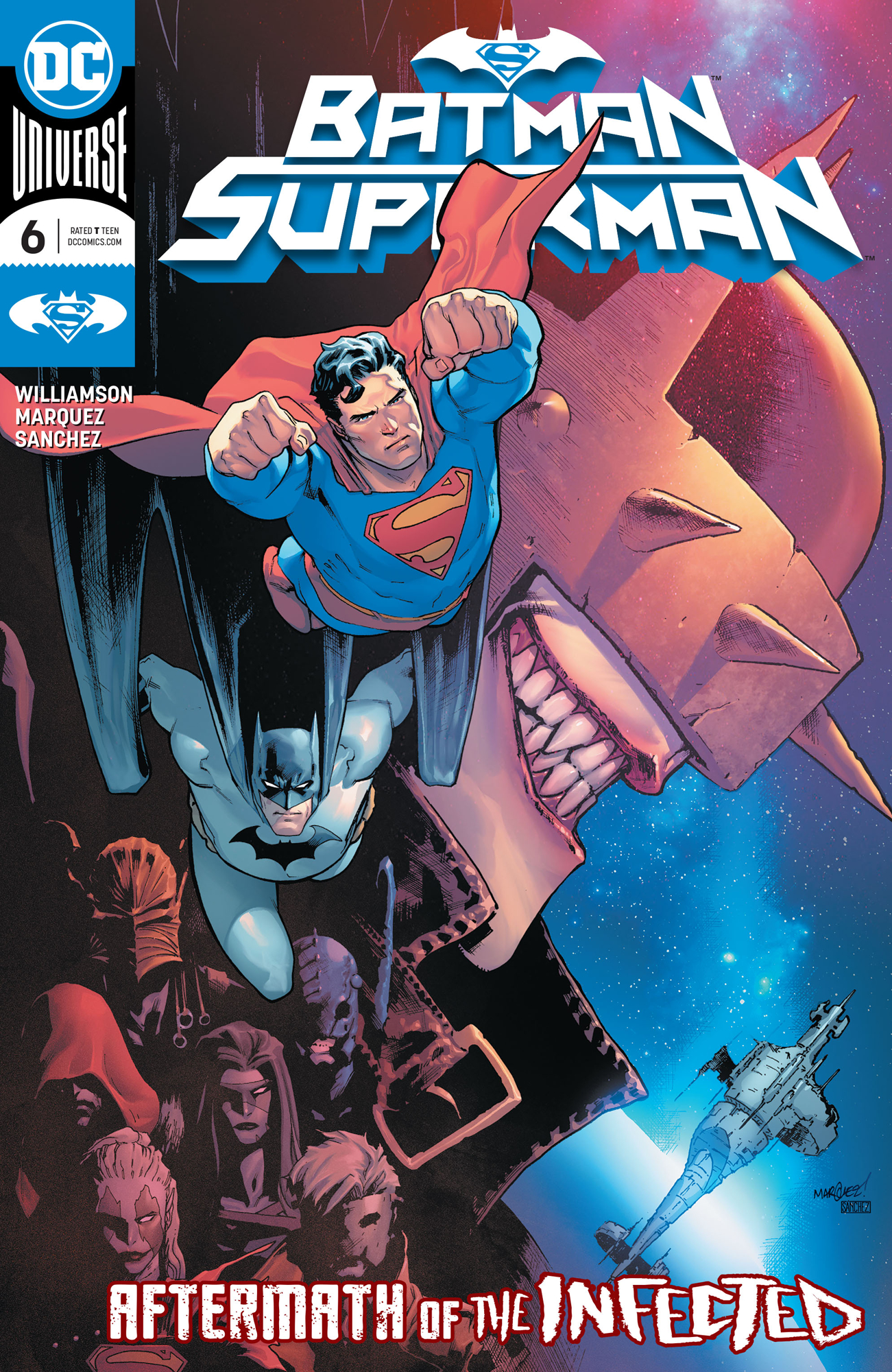 batman/superman 6 cover