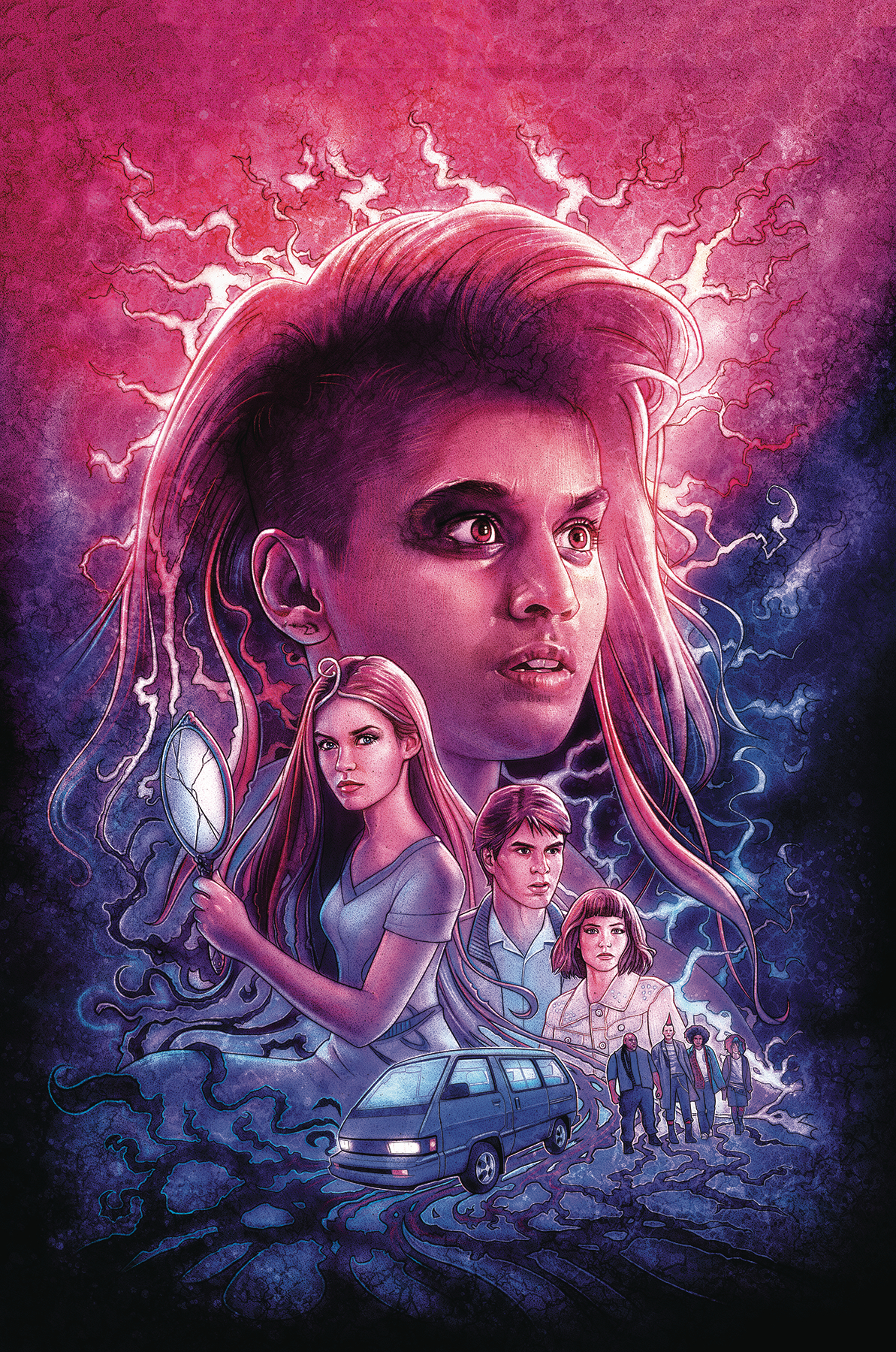 STRANGER THINGS INTO THE FIRE #1 (OF 4) CVR B LAMBERT