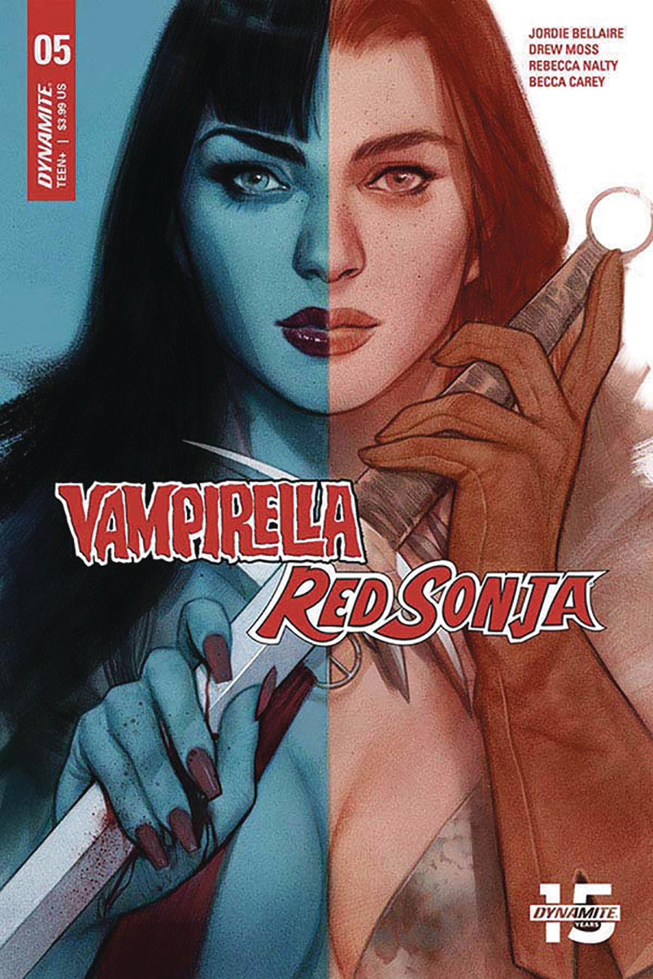 VAMPIRELLA RED SONJA #5 CVR C OLIVER
