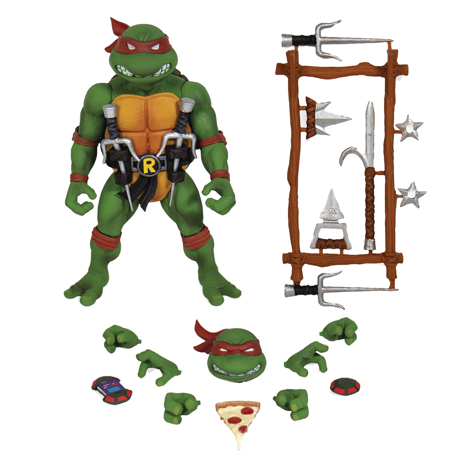TMNT ULTIMATES WAVE 1 RAPHAEL ACTION FIGURE  (AUG198978