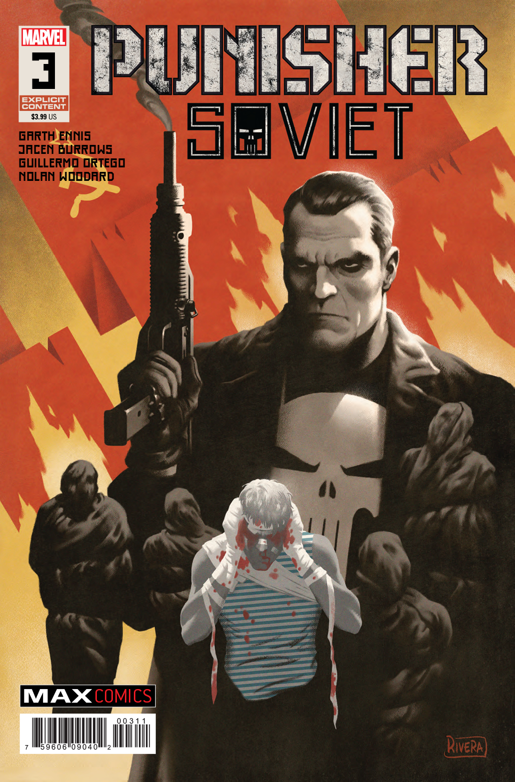 PUNISHER SOVIET #3 (OF 6) (MR)