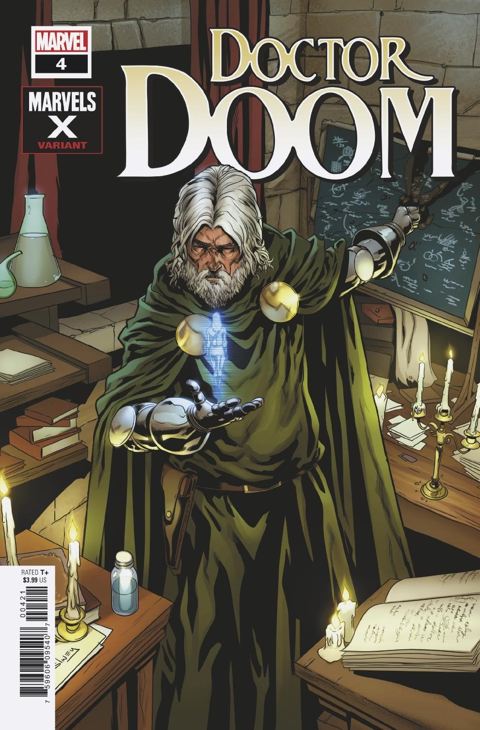 DOCTOR DOOM #4 SLINEY MARVELS X VAR