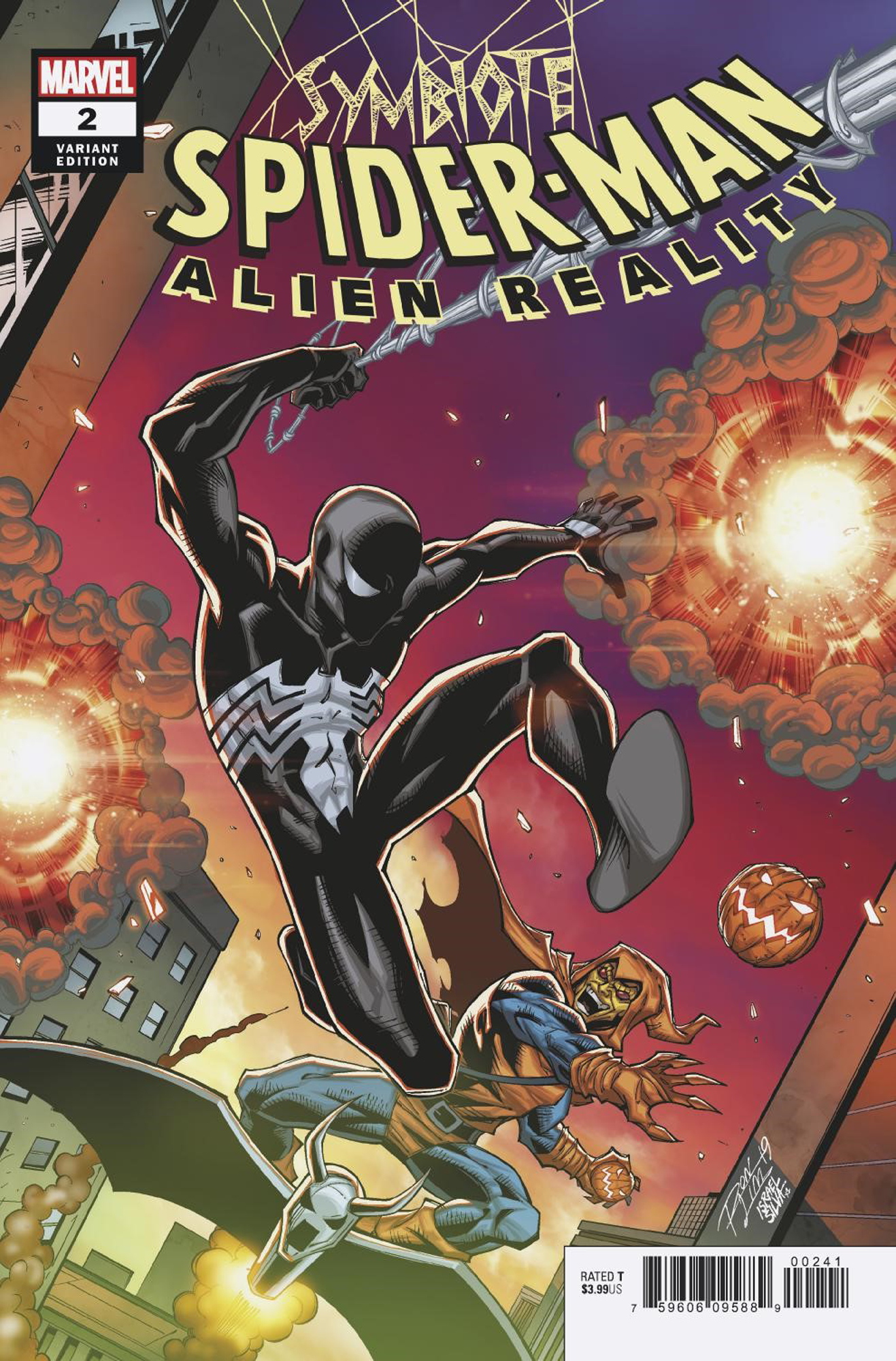 SYMBIOTE SPIDER-MAN ALIEN REALITY #2 (OF 5) RON LIM VAR