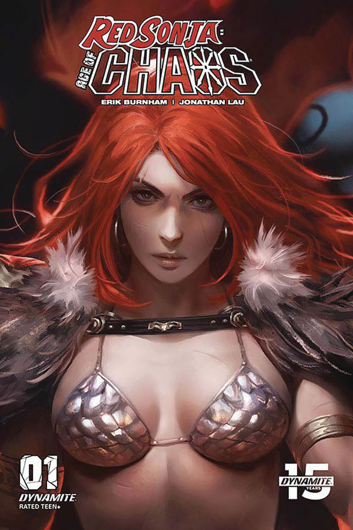 RED SONJA AGE OF CHAOS #1 10 COPY CHEW SNEAK PEEK INCV