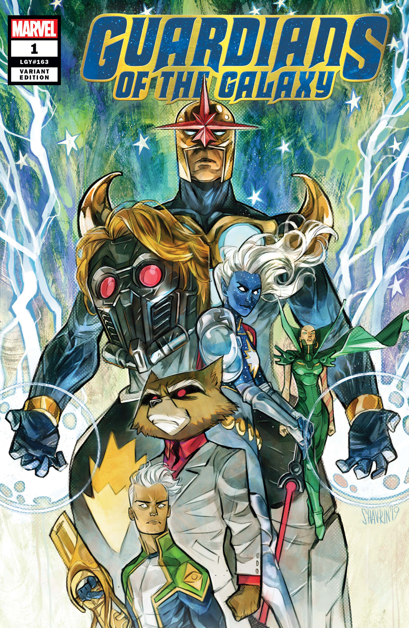 GUARDIANS OF THE GALAXY #1 SHAVRIN VAR