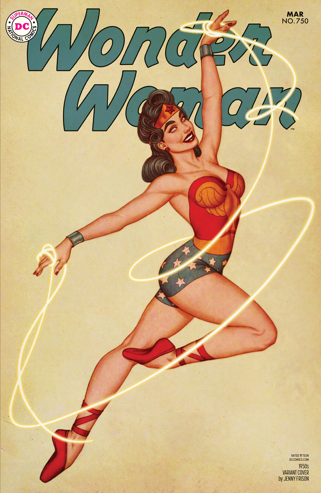WONDER WOMAN #750 1950S VAR ED