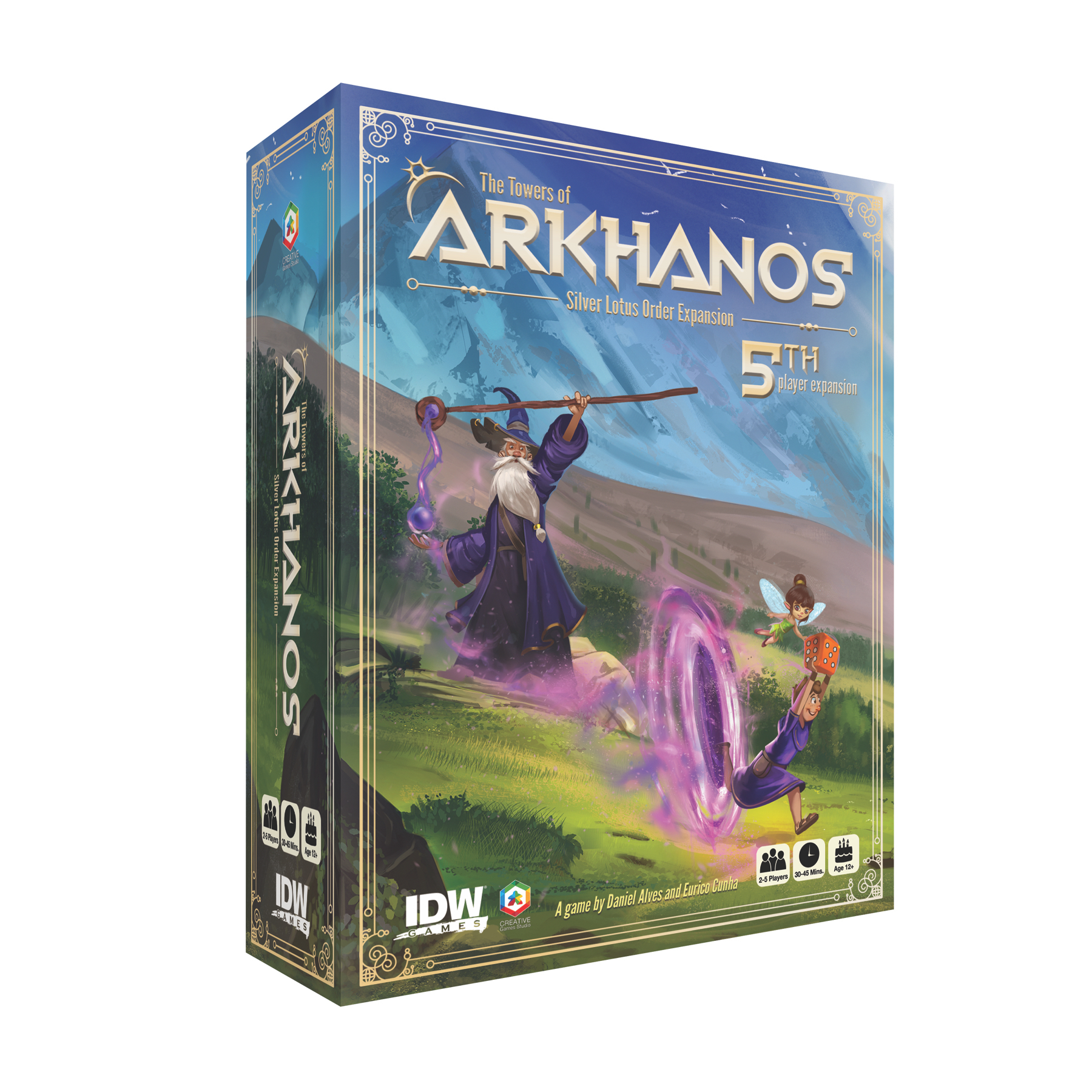 TOWERS OF ARKHANOS SILVER LOTUS ORDER 5TH PLAYER EXPANSION (