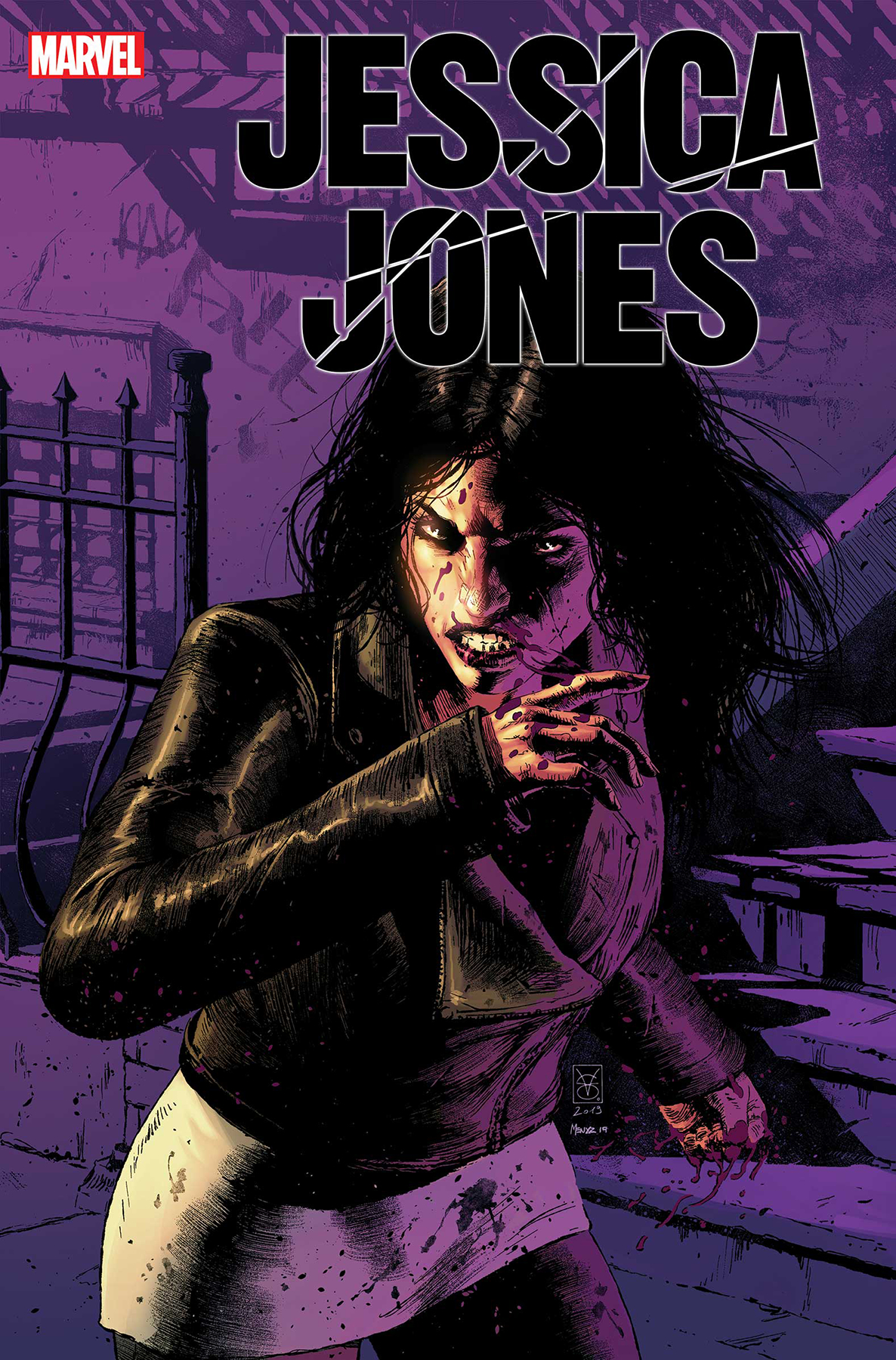 Image result for Jessica Jones Blind Spot #1