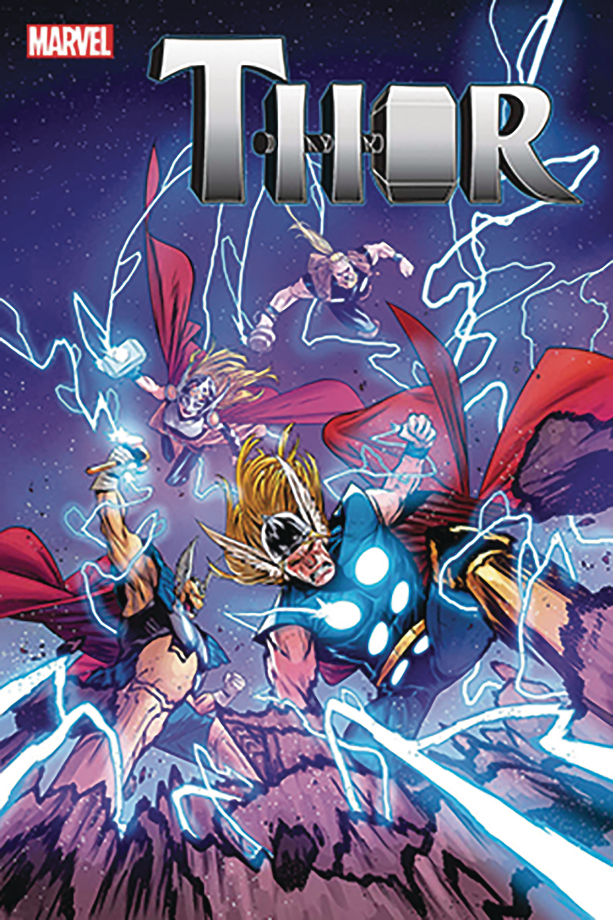 DF THOR THE WORTHY #1 SGN SIMONSON