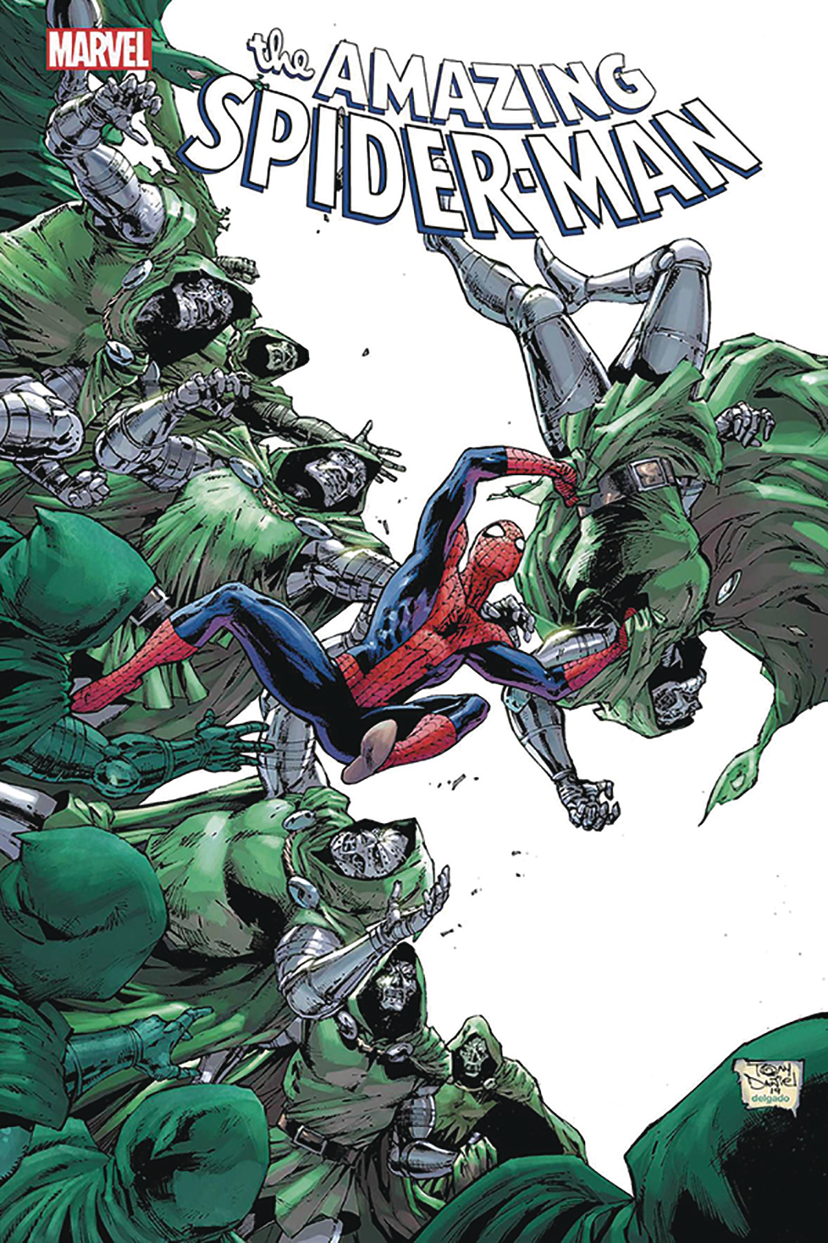 DF AMAZING SPIDERMAN #35 SGN SPENCER