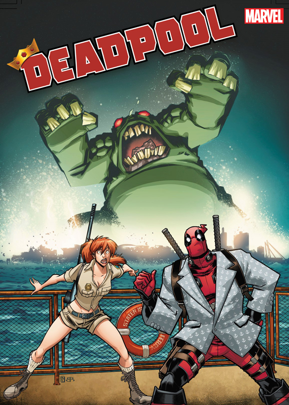 DEADPOOL #1 BALDEON VAR