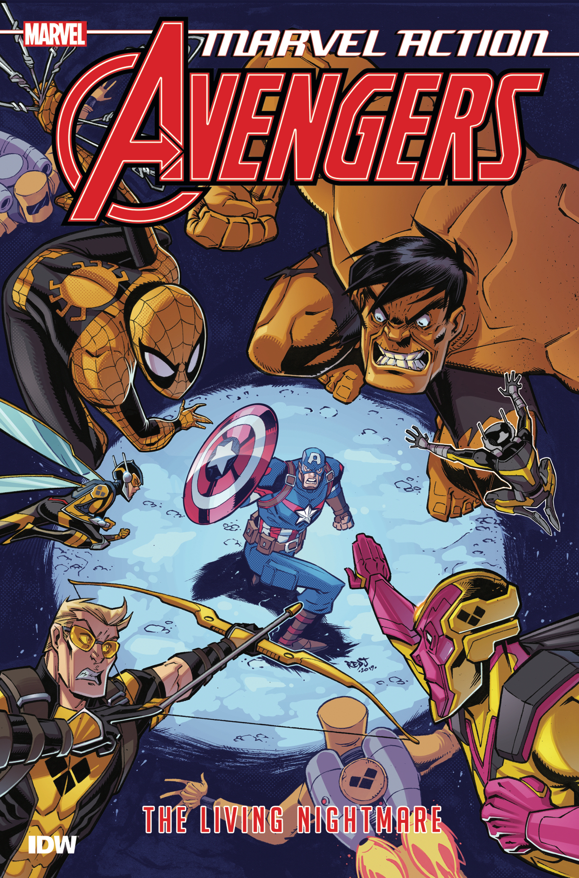 MARVEL ACTION AVENGERS TP BOOK 04 LIVING NIGHTMARE