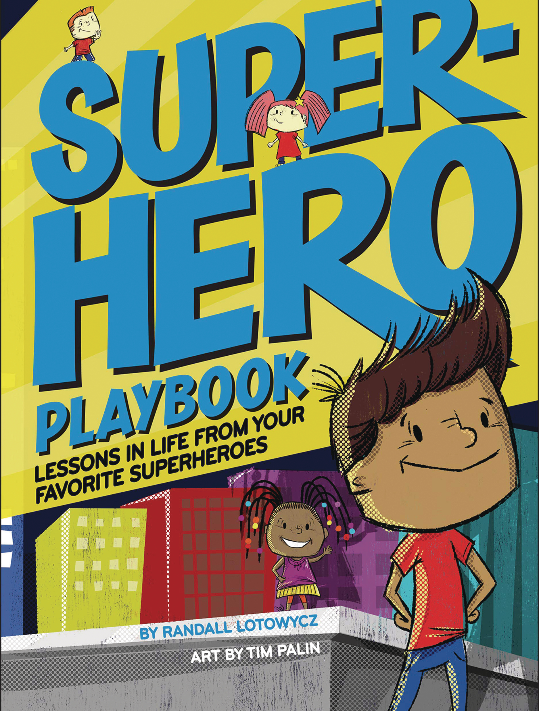 SUPERHERO PLAYBOOK HC