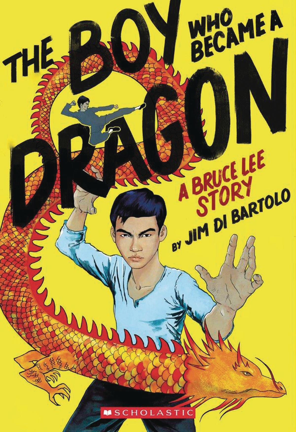 BOY WHO BECAME A DRAGON BRUCE LEE STORY SC GN