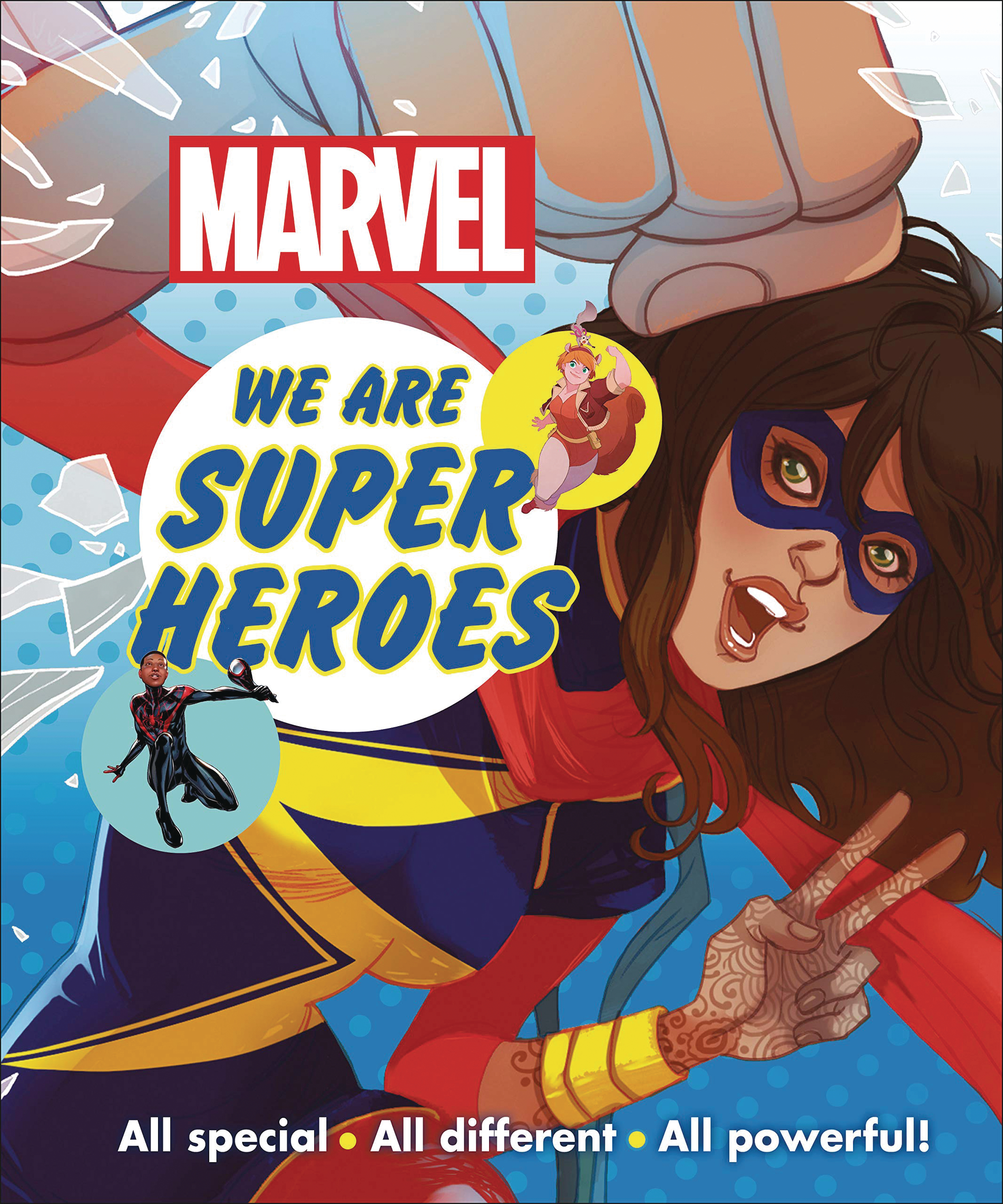 MARVEL WE ARE SUPER HEROES HC