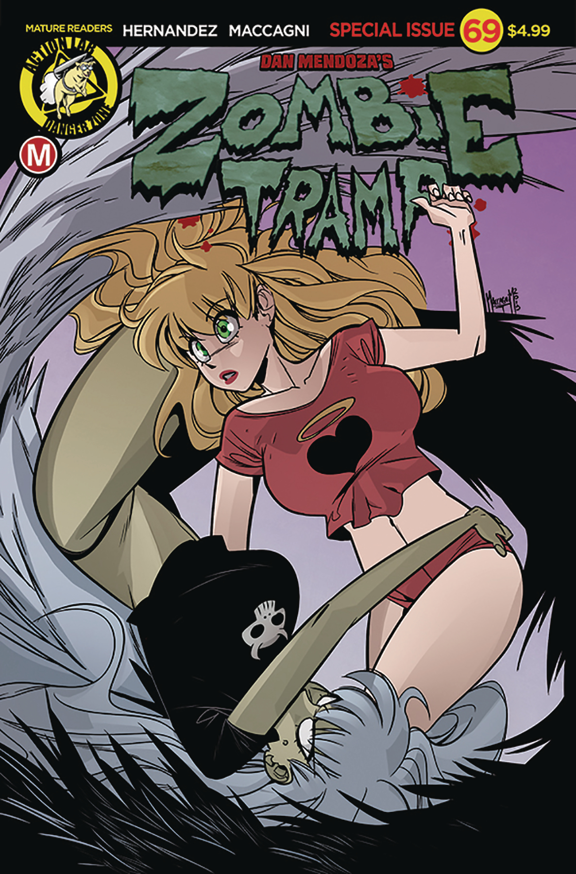 ZOMBIE TRAMP ONGOING #69 CVR A MACCAGNI (MR)