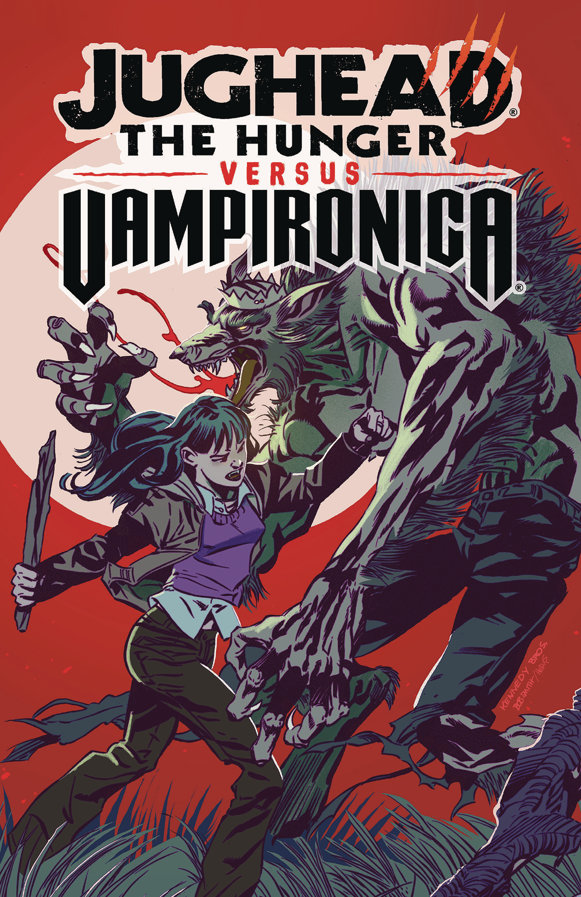 JUGHEAD HUNGER VS VAMPIRONICA TP (MR)