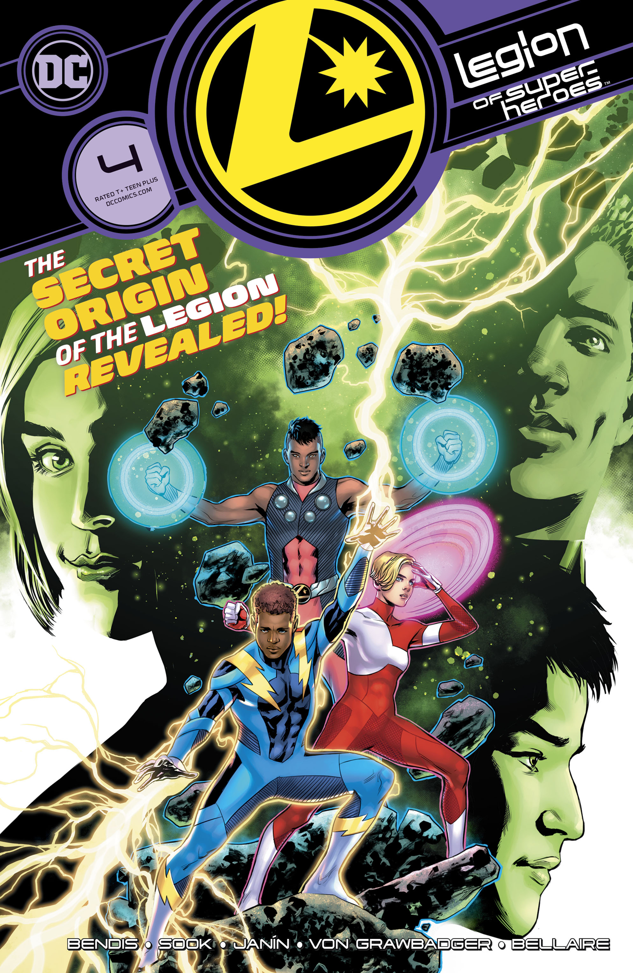 LEGION OF SUPER HEROES #4