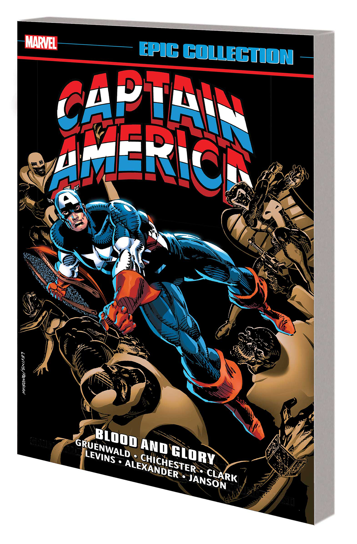 CAPTAIN AMERICA EPIC COLLECTION (18) TP BLOOD GLORY [#398-410+]