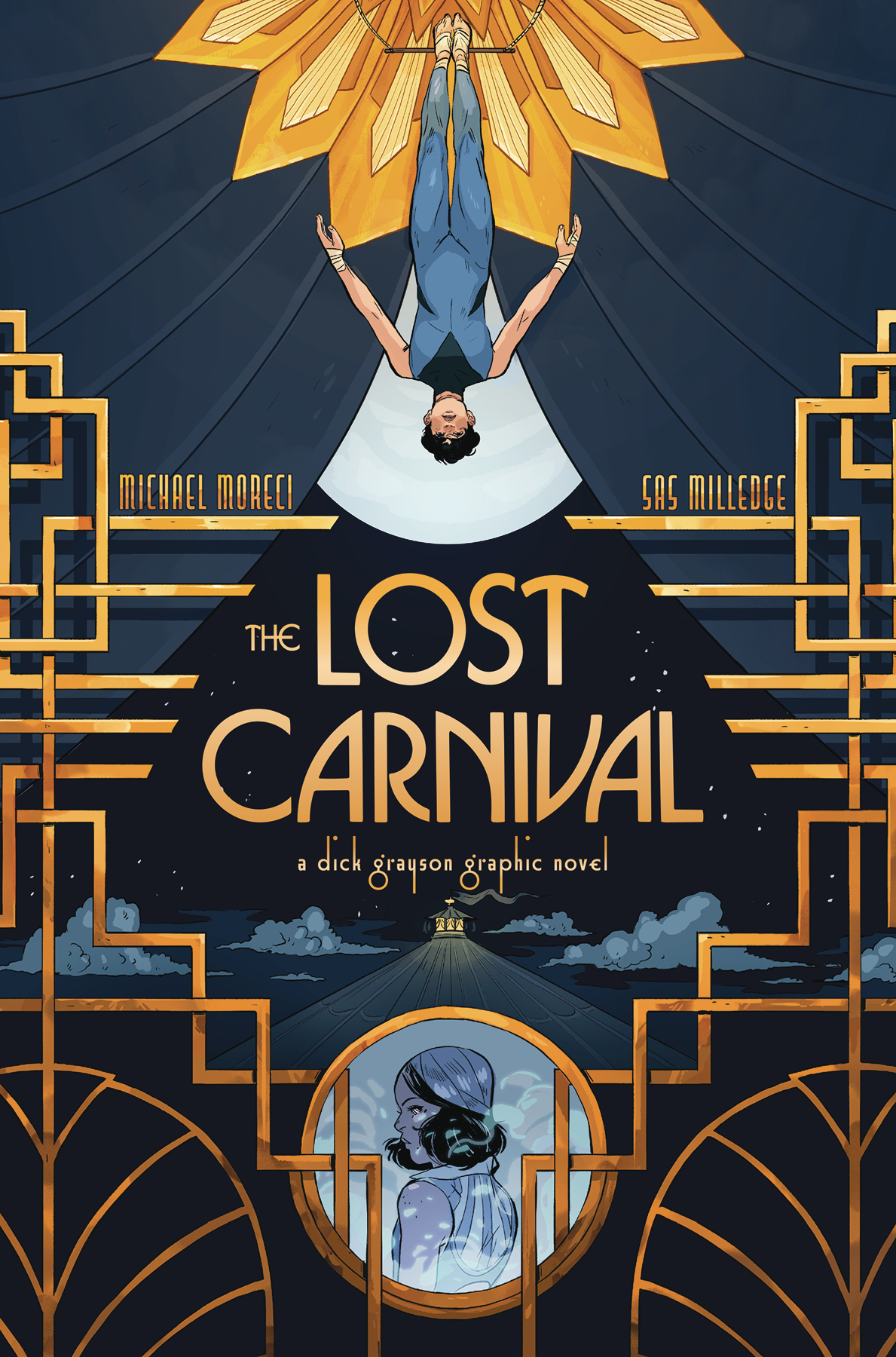 DC Comics LOST CARNIVAL A DICK GRAYSON GRAPHIC NOVEL TP