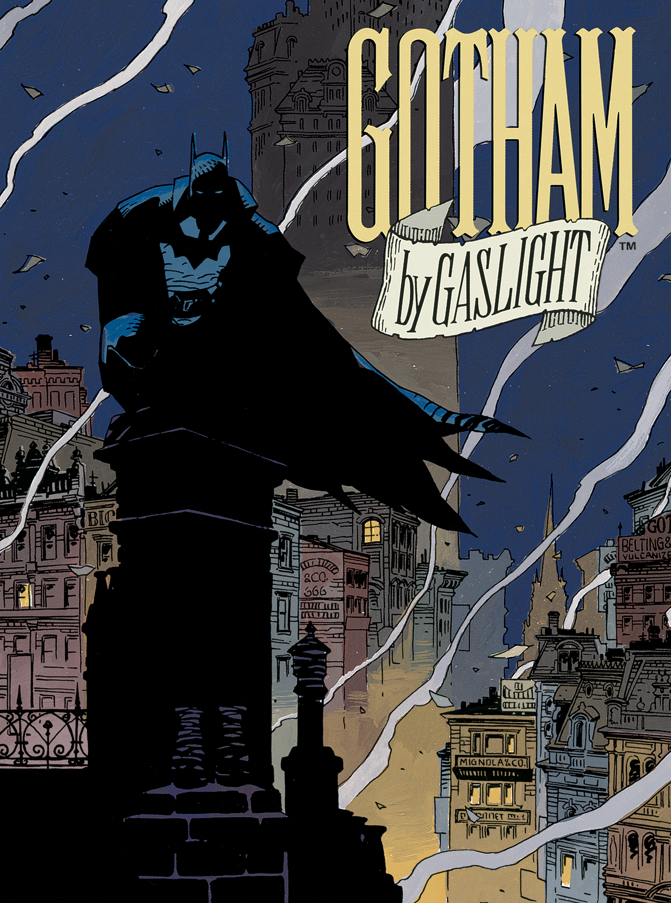 ABSOLUTE GOTHAM BY GASLIGHT HC