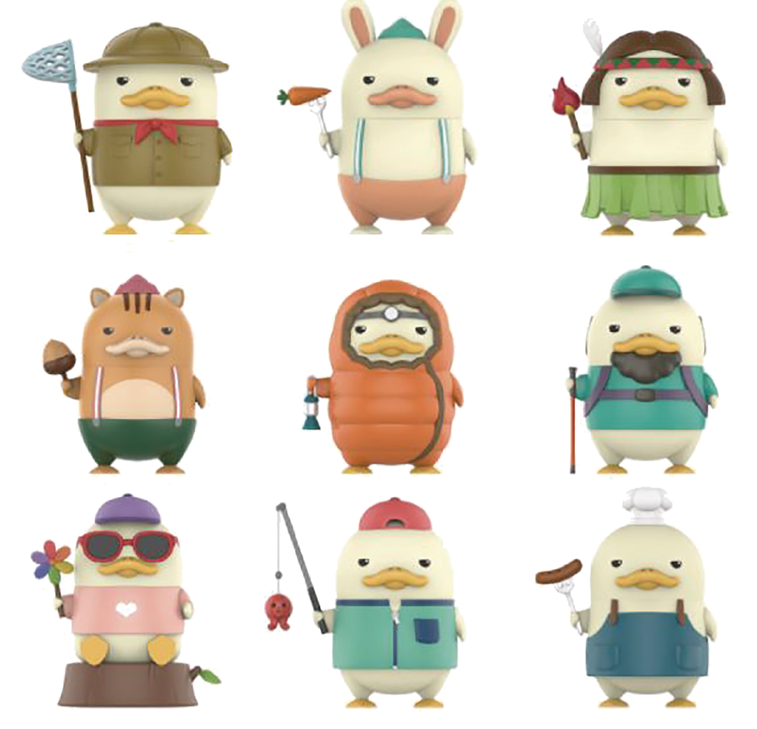 POP MART DUCKOO IN THE FOREST 9PC FIG BMB DS