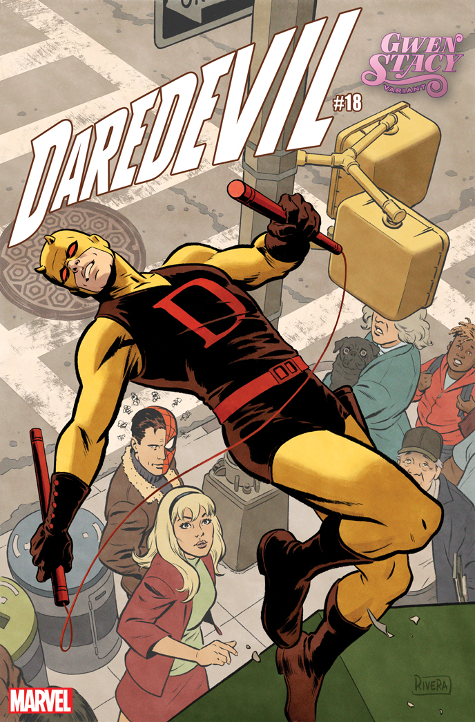 DAREDEVIL #18 RIVERA GWEN STACY VAR