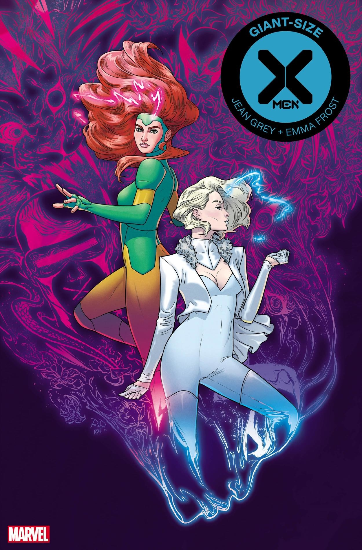 Image result for giant sized x men jean grey and emma frost