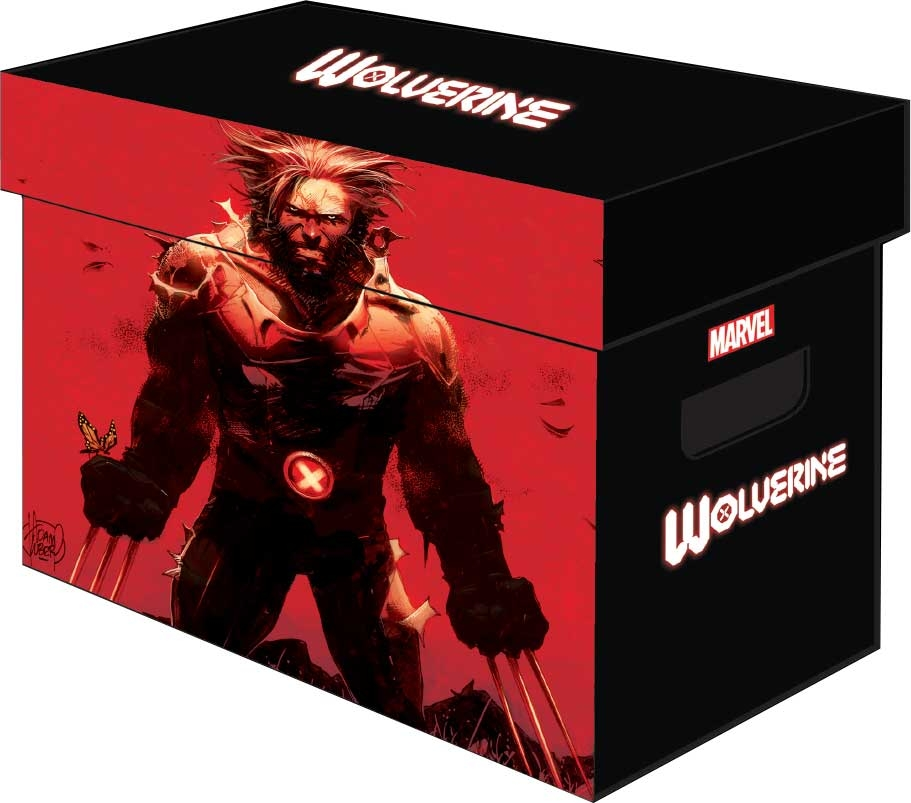 MARVEL GRAPHIC COMIC BOXES WOLVERINE (BUNDLE OF 5)