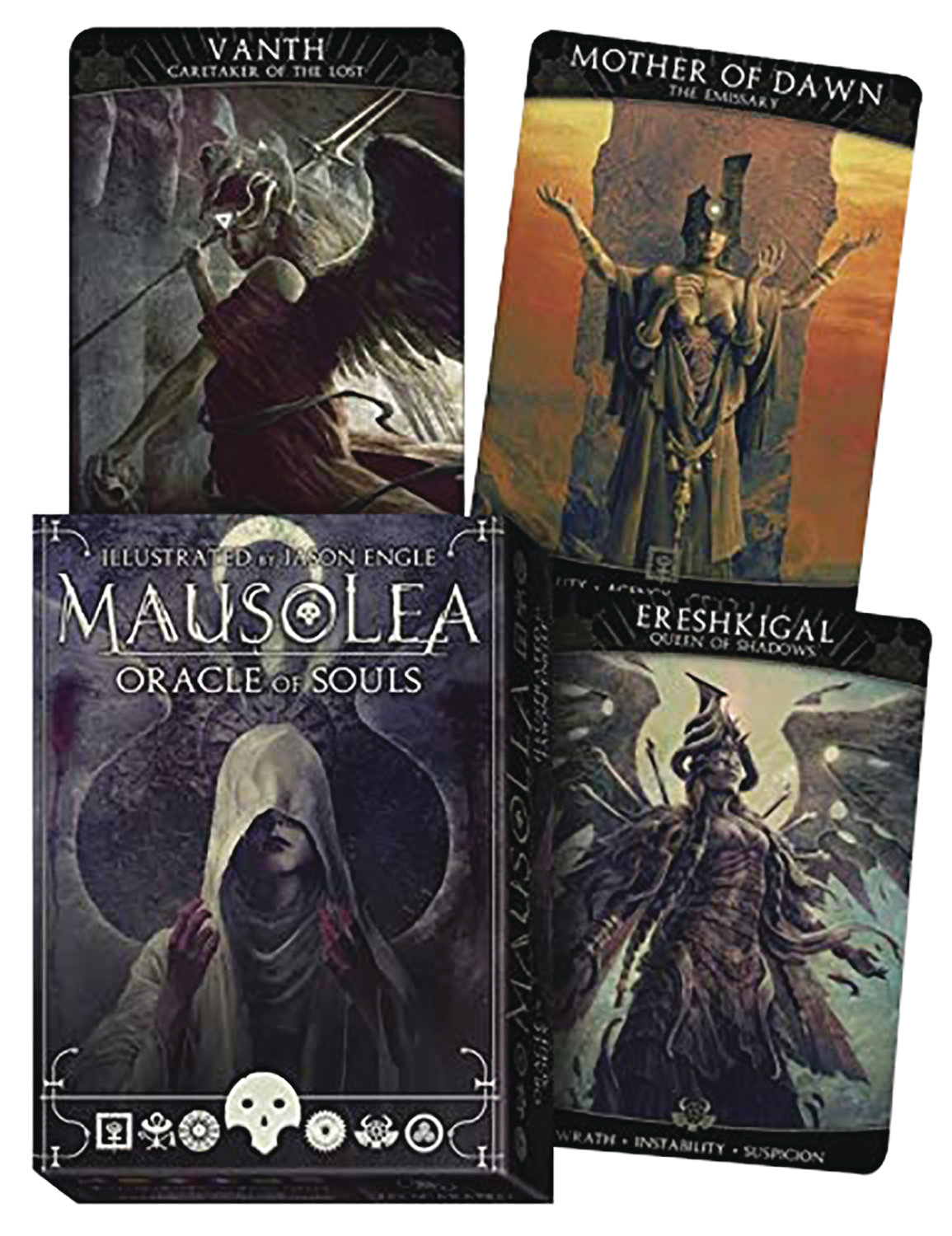 MAUSOLEA ORACLE OF SOULS CARD DECK