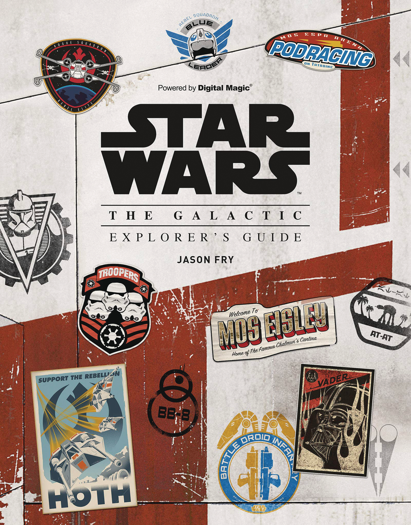 STAR WARS GALACTIC EXPLORERS GUIDE HC