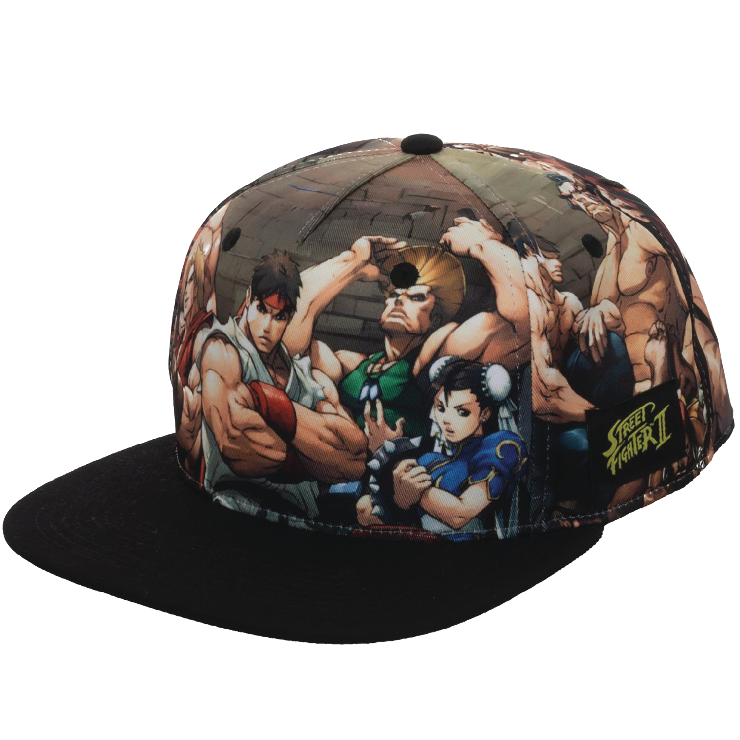 STREET FIGHTER SUBLIMATED SNAPBACK CAP