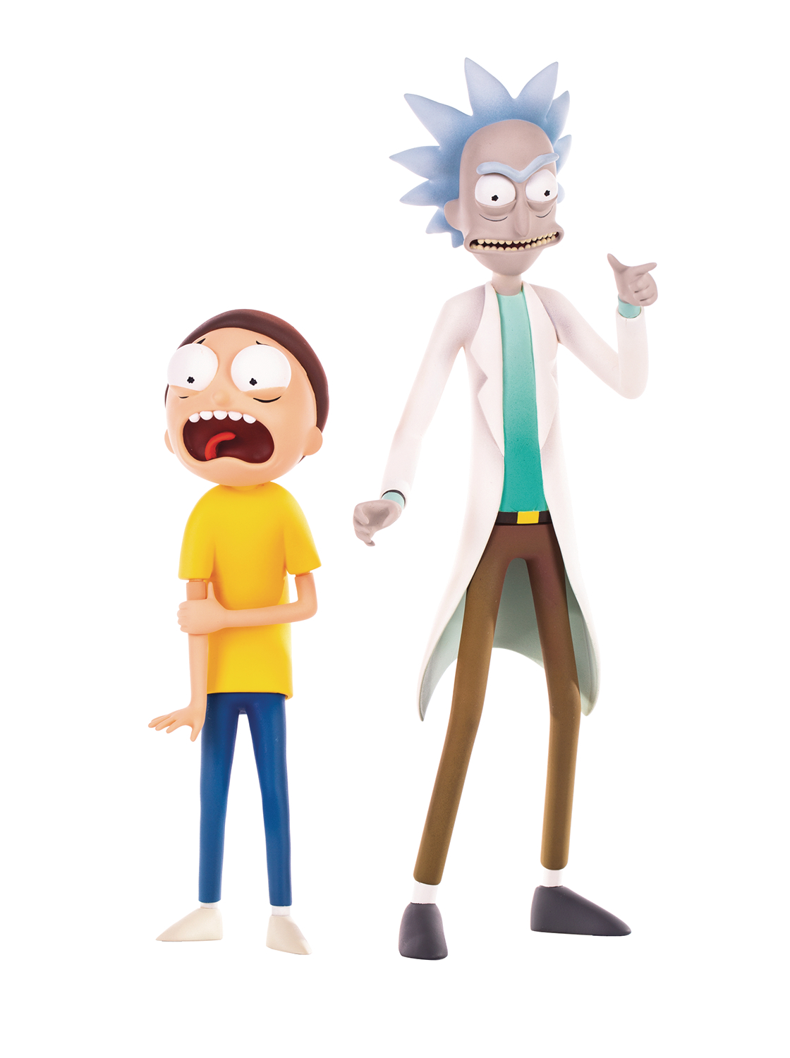 RICK & MORTY COLLECTIBLE FIGURE SET