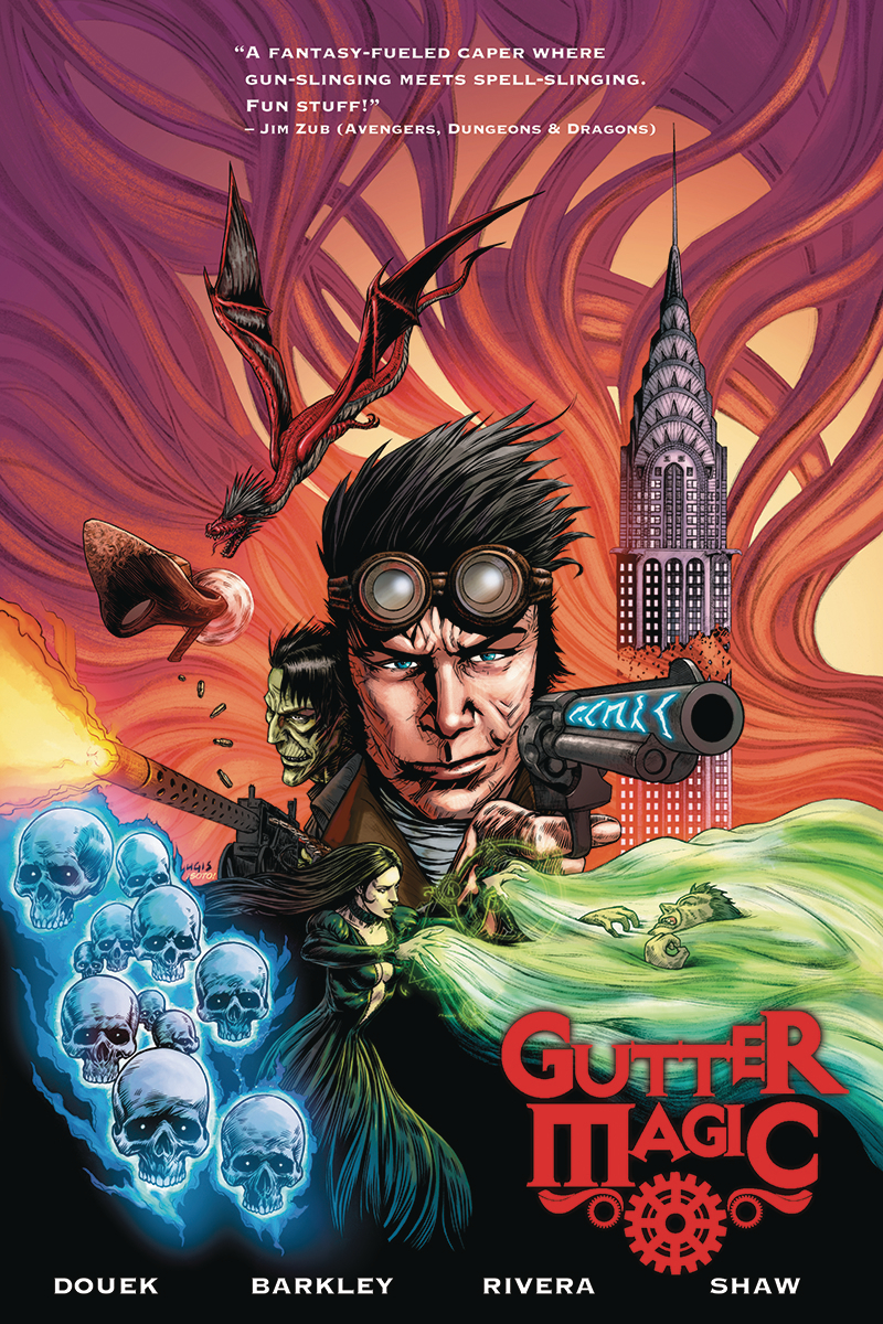 GUTTER MAGIC TP VOL 01