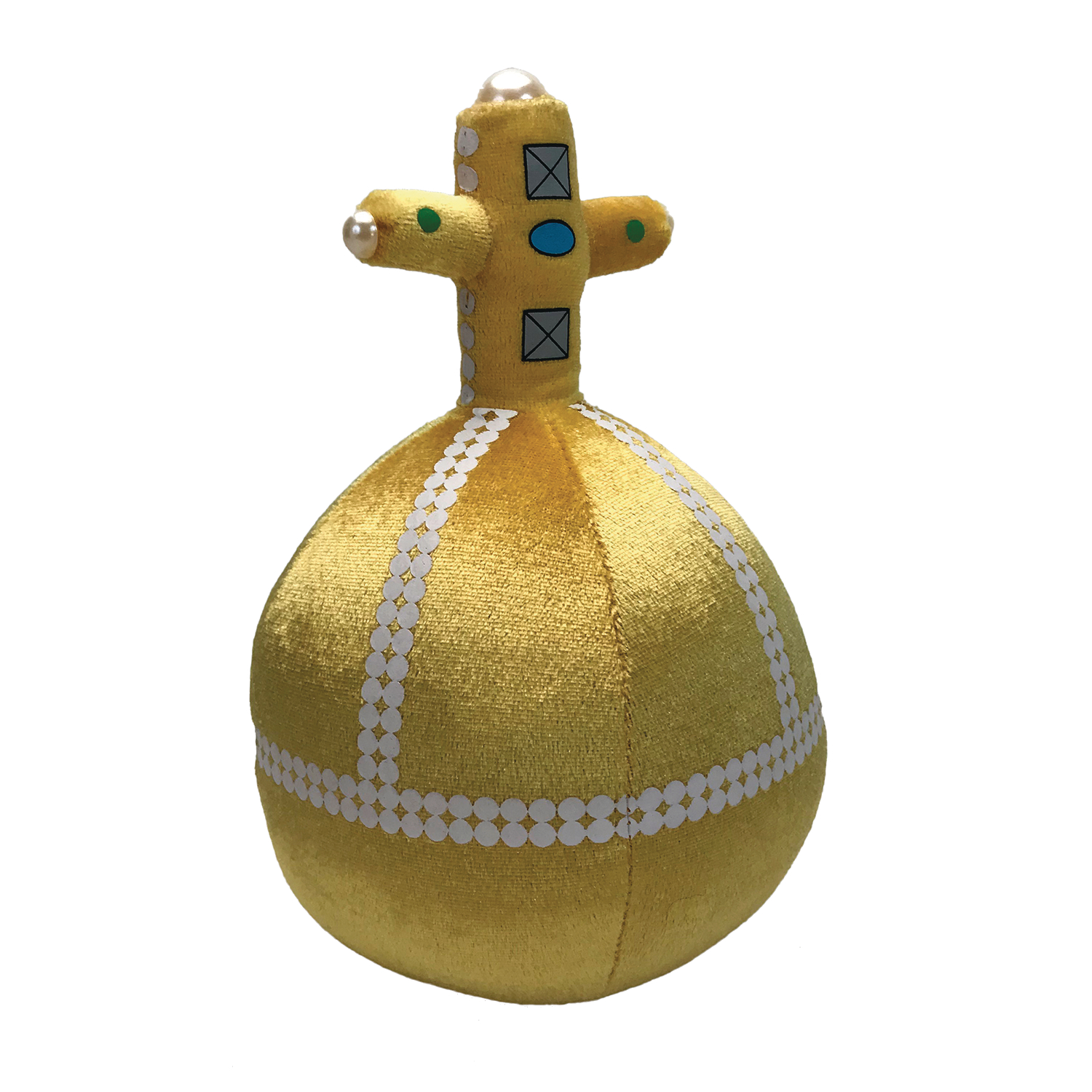 MONTY PYTHON HOLY HAND GRENADE 8IN TALKING PLUSH