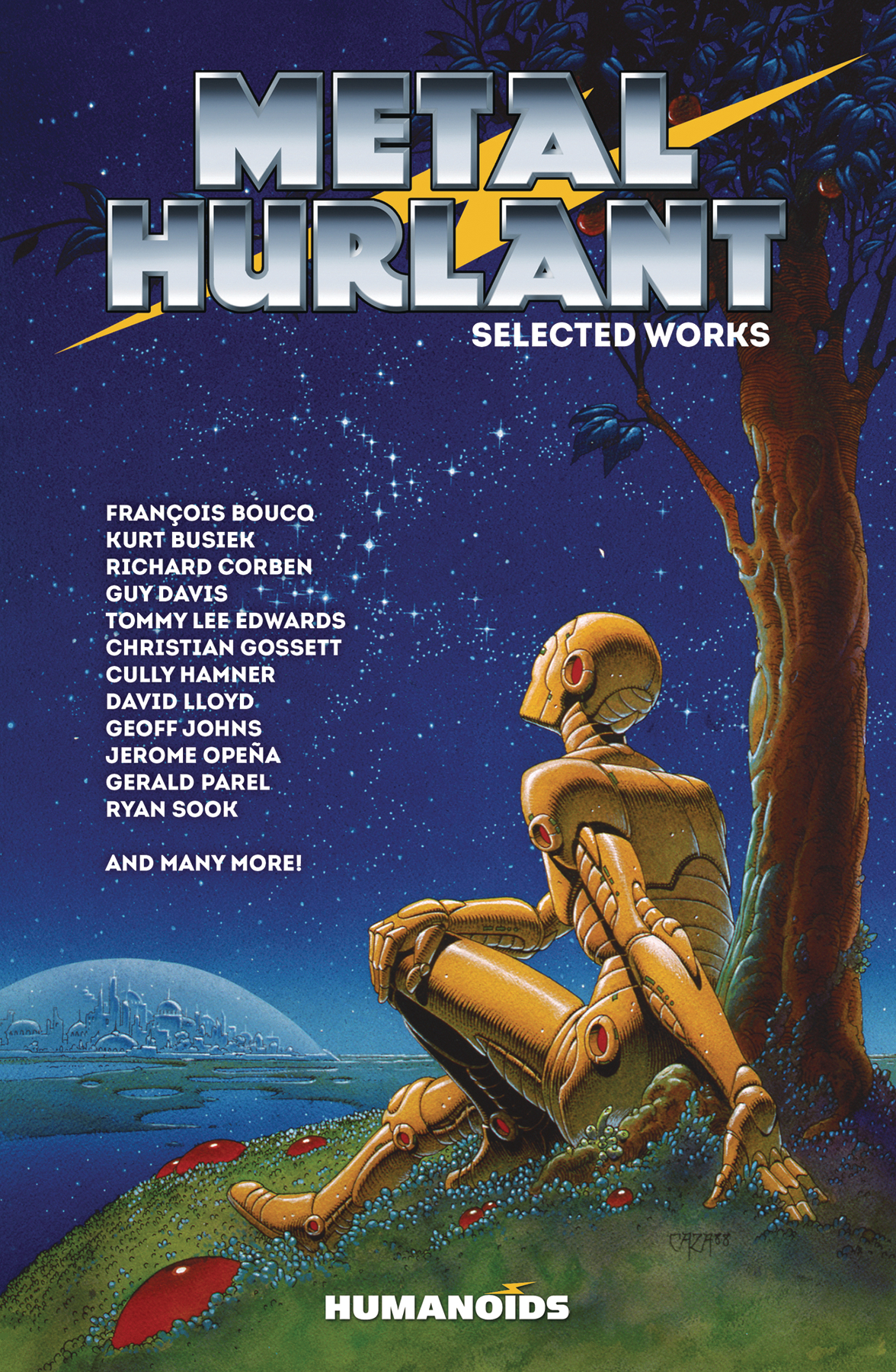 METAL HURLANT SELECTED WORKS SC