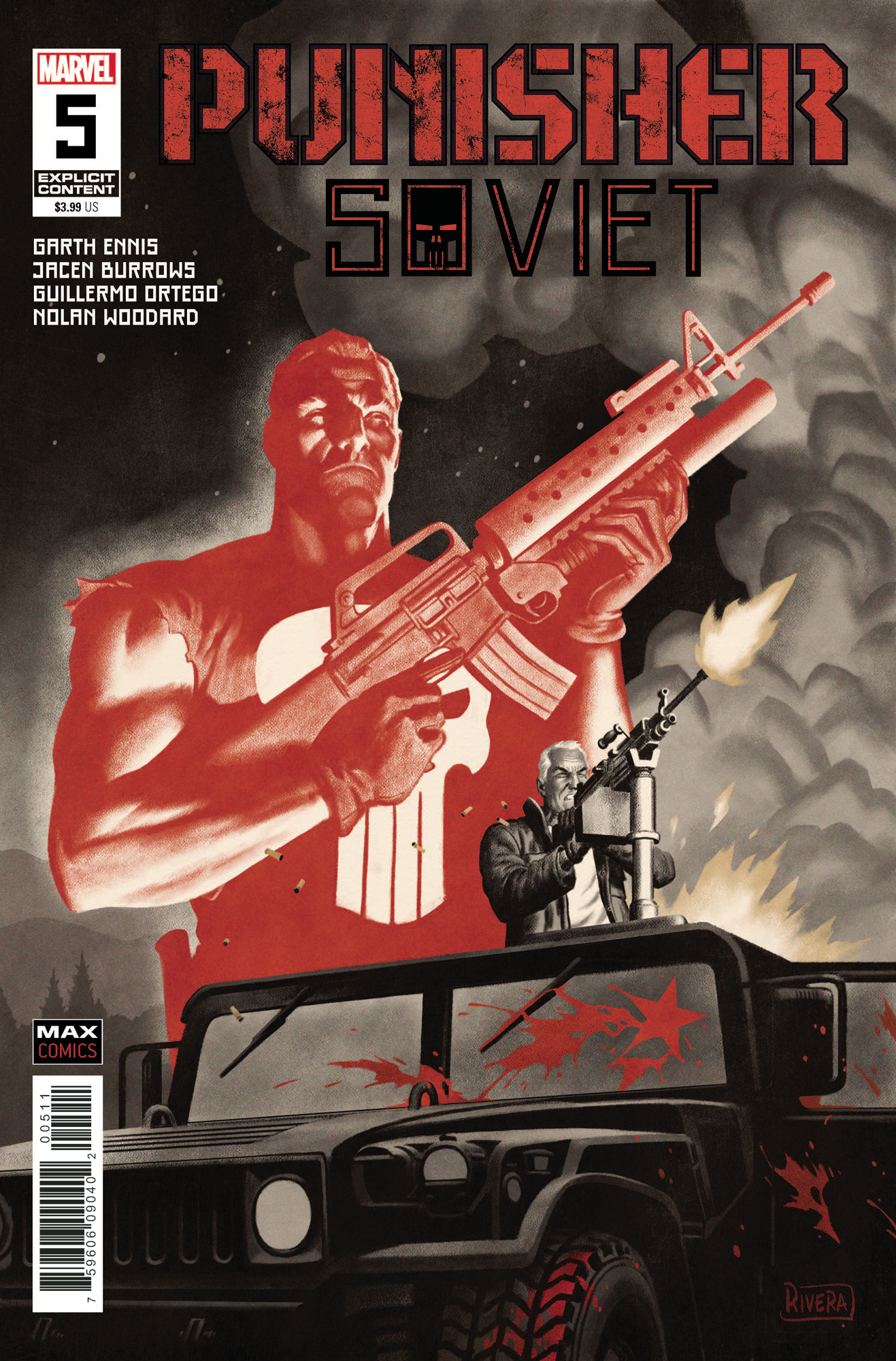 PUNISHER SOVIET #5 (OF 6) (MR)