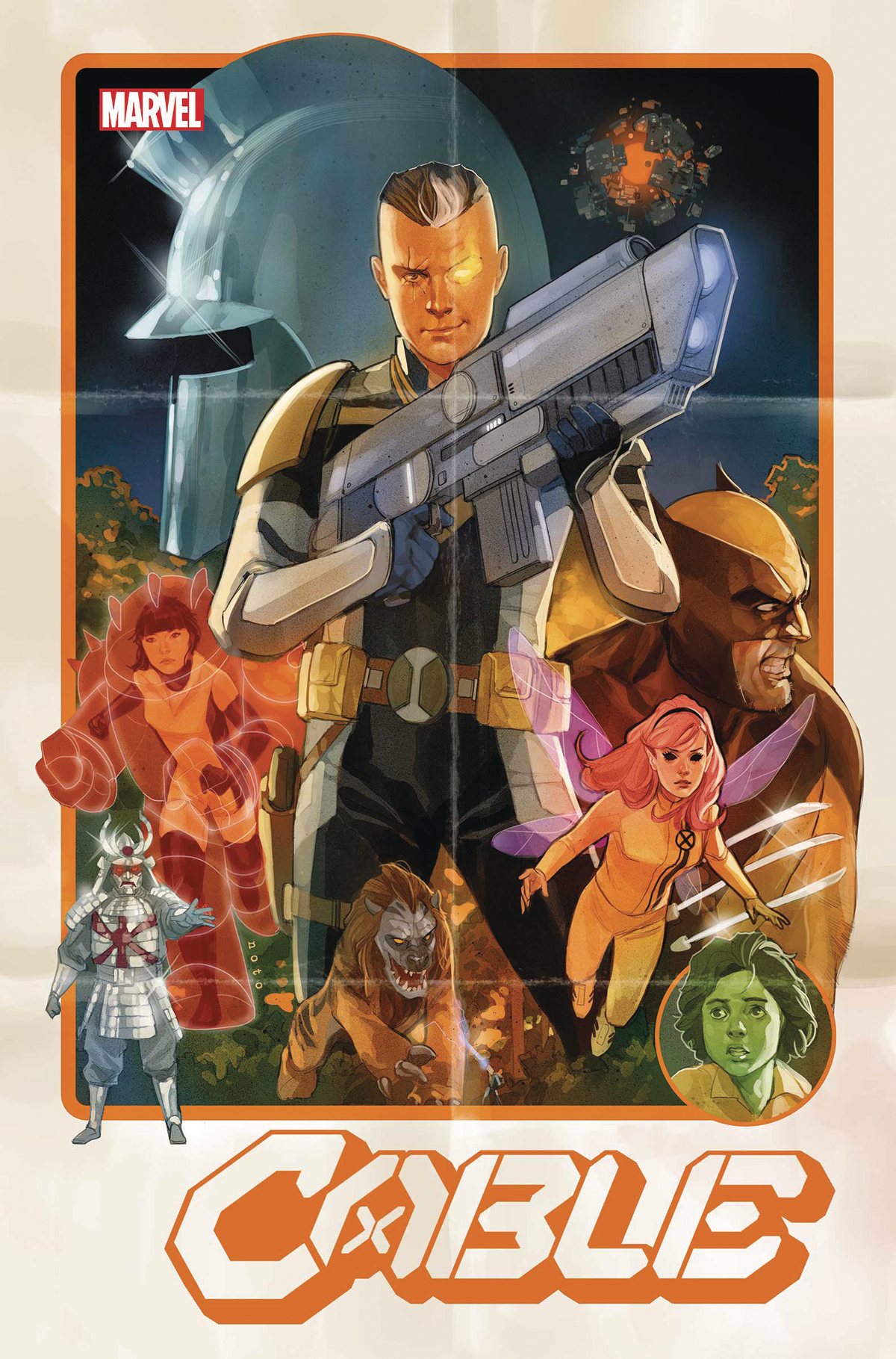 CABLE #1 POSTER