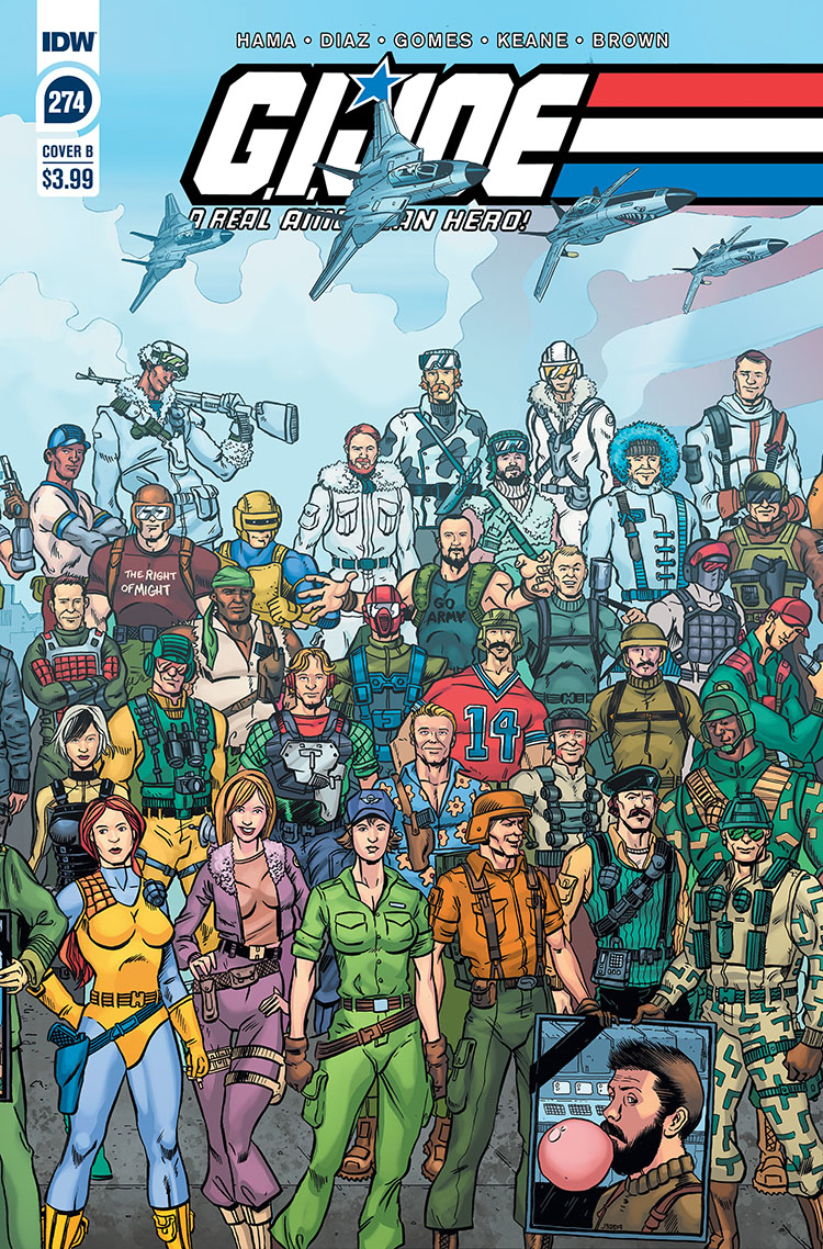 GI JOE A REAL AMERICAN HERO #274 CVR B SULLIVAN