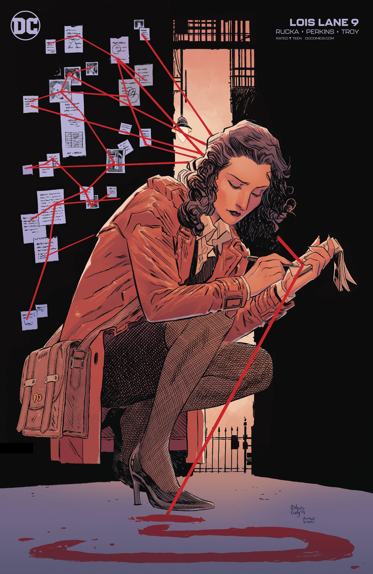 LOIS LANE #9 (OF 12) BILQUIS EVELY VAR ED