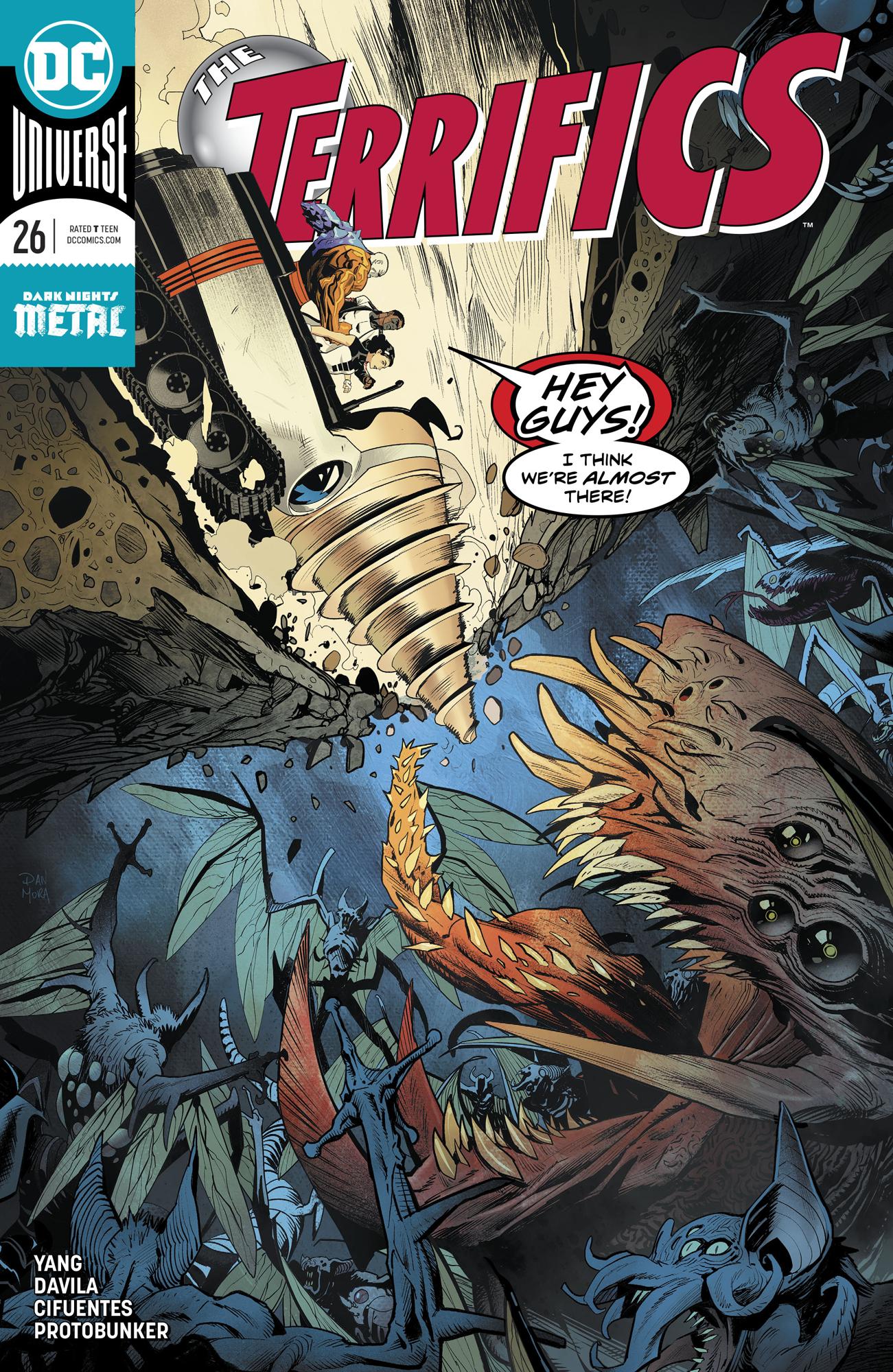 DC Comics TERRIFICS #26