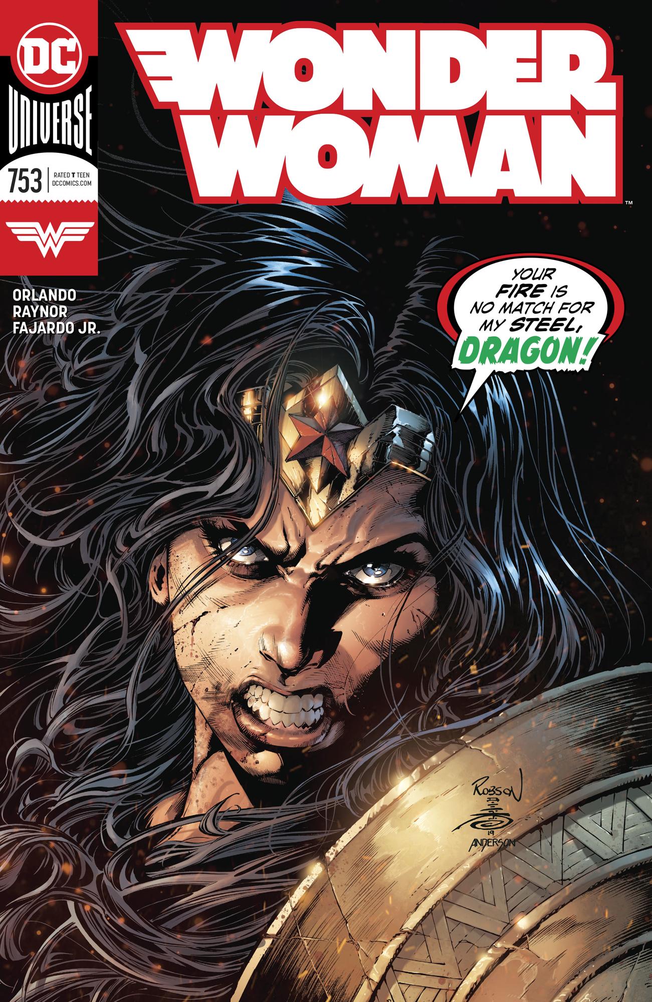DC Comics WONDER WOMAN #753