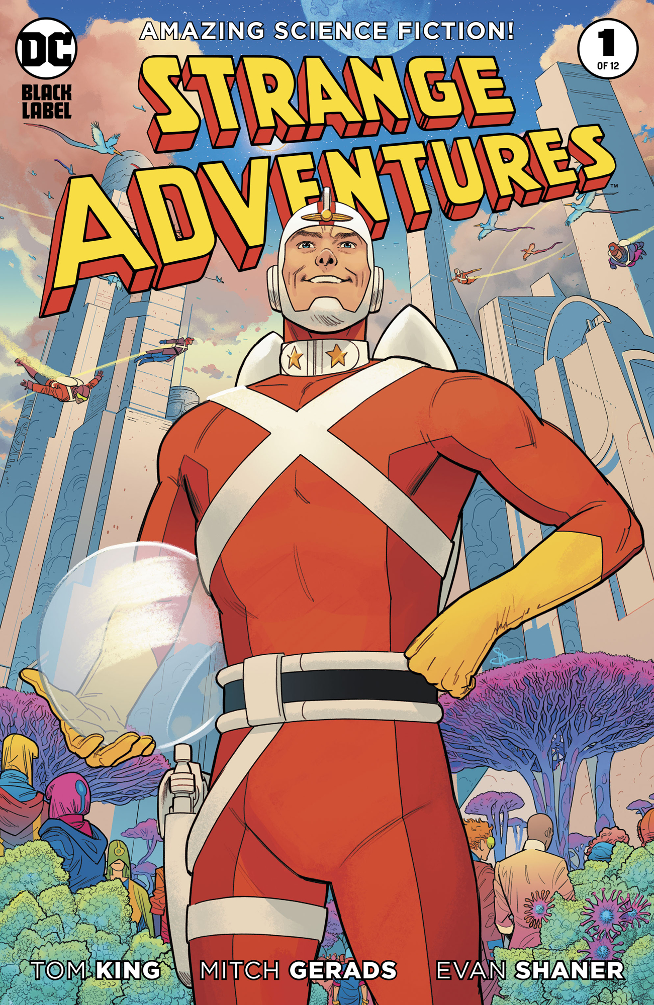 STRANGE ADVENTURES #1 (OF 12) EVAN SHANER VAR ED