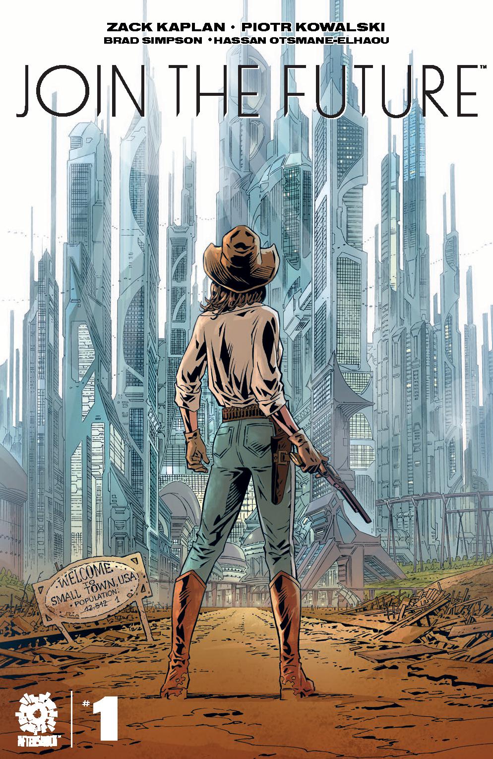JOIN THE FUTURE #1 CVR A KOWALSKI